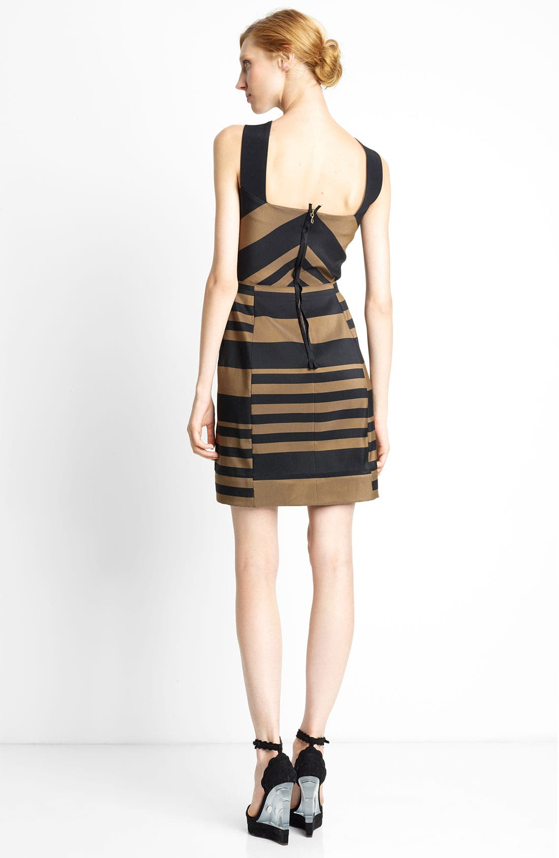 Alternate Image 2  - Lanvin Striped Halter Dress