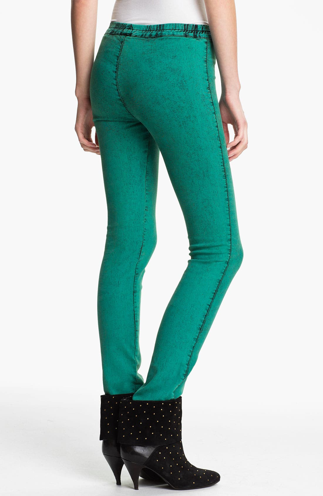 Alternate Image 2  - Kelly Wearstler 'Mineral Wash' Stretch Twill Leggings