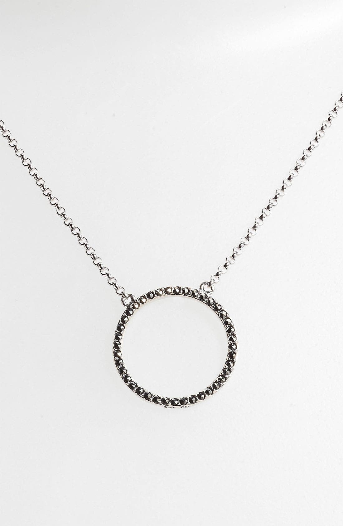 Main Image - Judith Jack 'Crystal Glitz' Reversible Pendant Necklace
