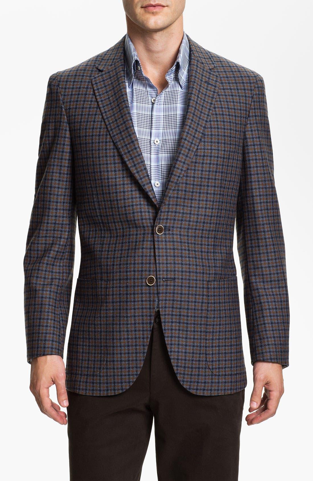 Alternate Image 1 Selected - Peter Millar Wool & Cashmere Sportcoat