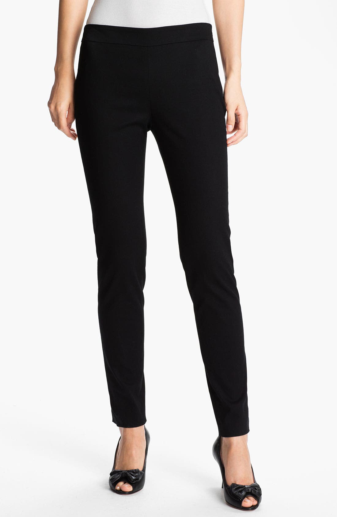Alternate Image 1 Selected - RED Valentino Slim Stretch Gabardine Pants