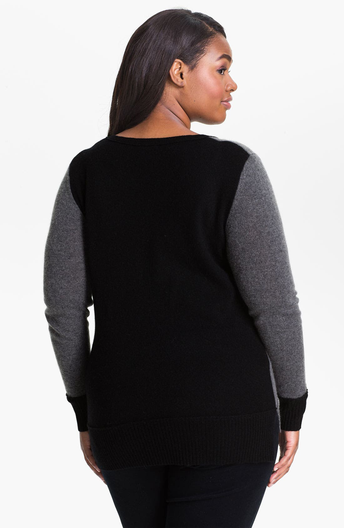 Alternate Image 2  - Only Mine Colorblock Wool & Cashmere Sweater
