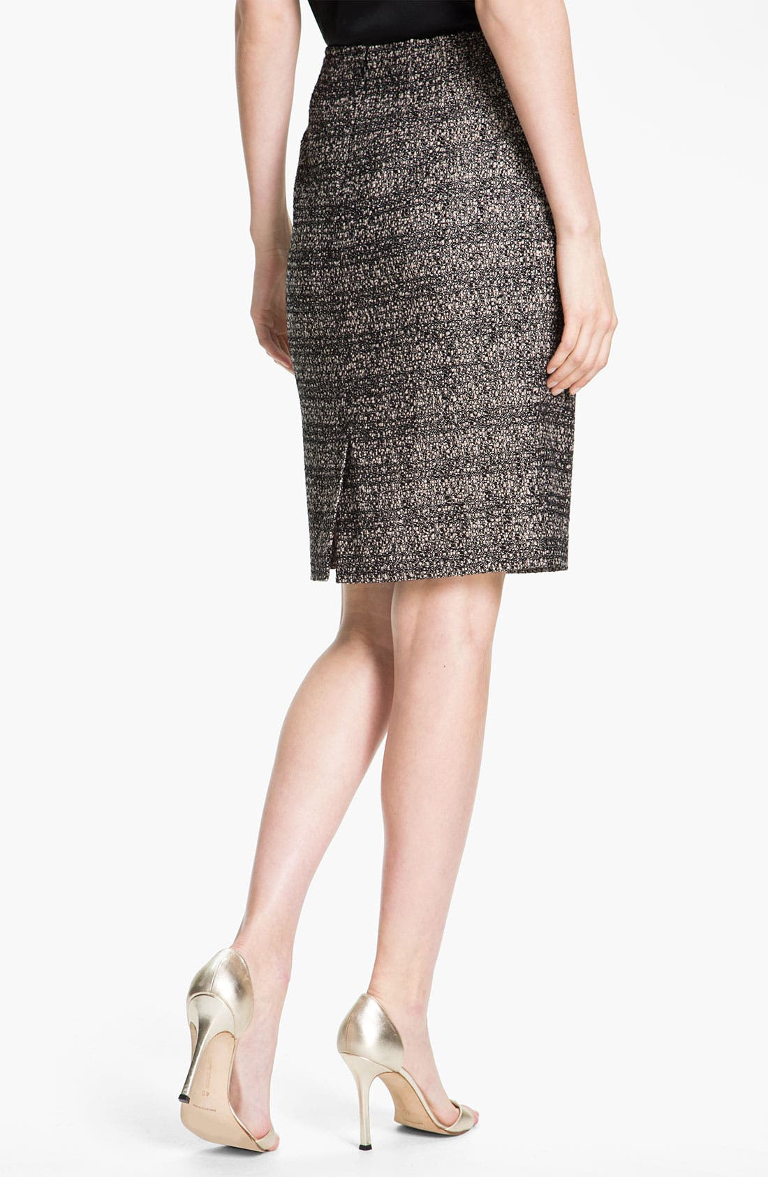 Alternate Image 3  - St. John Collection Graphic Tweed Pencil Skirt