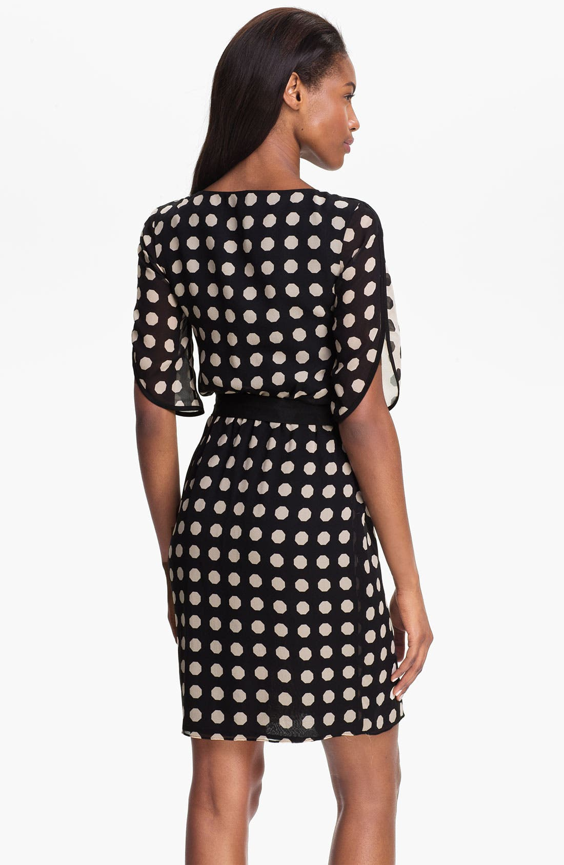 Alternate Image 2  - Trina Turk 'Miss Taro' Dot Print Silk Dress