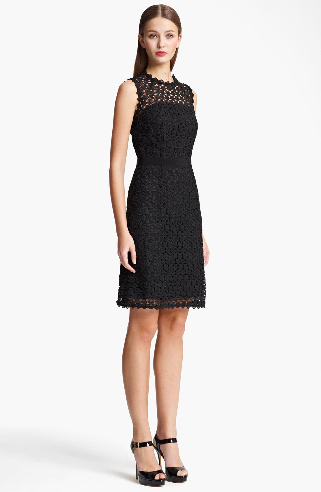 Alternate Image 1 Selected - Moschino Cheap & Chic Embroidered Dress