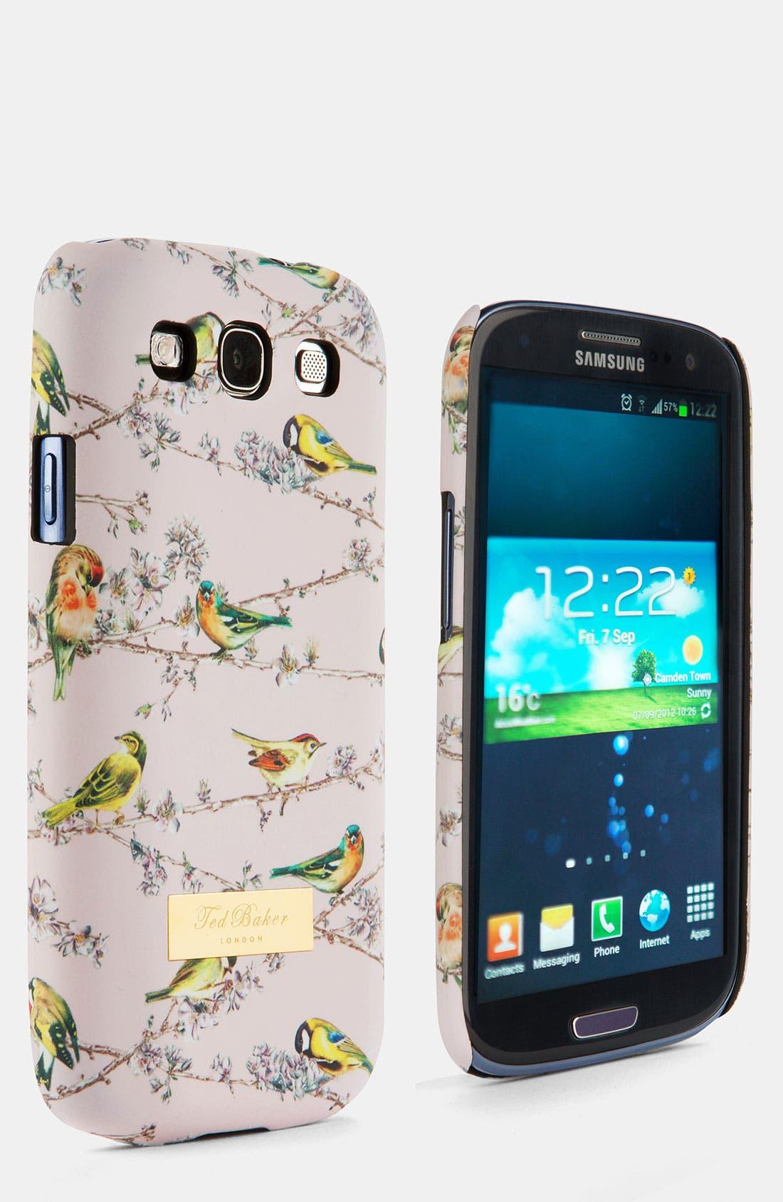 'Birdie Branch' Samsung Galaxy S<sup>®</sup> III Cover,                         Main,                         color, Pink