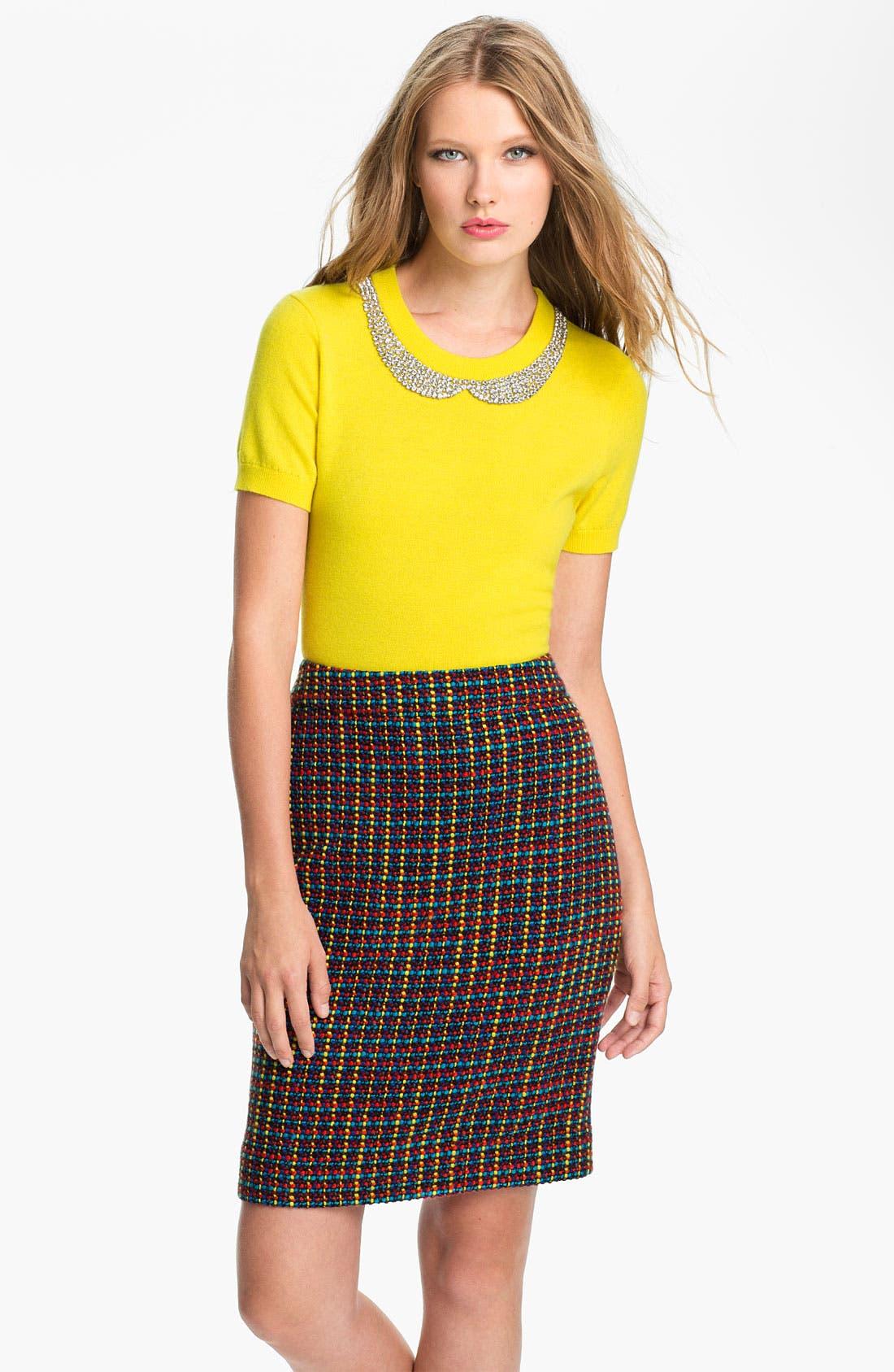 Alternate Image 1 Selected - kate spade new york 'tippy' embellished sweater