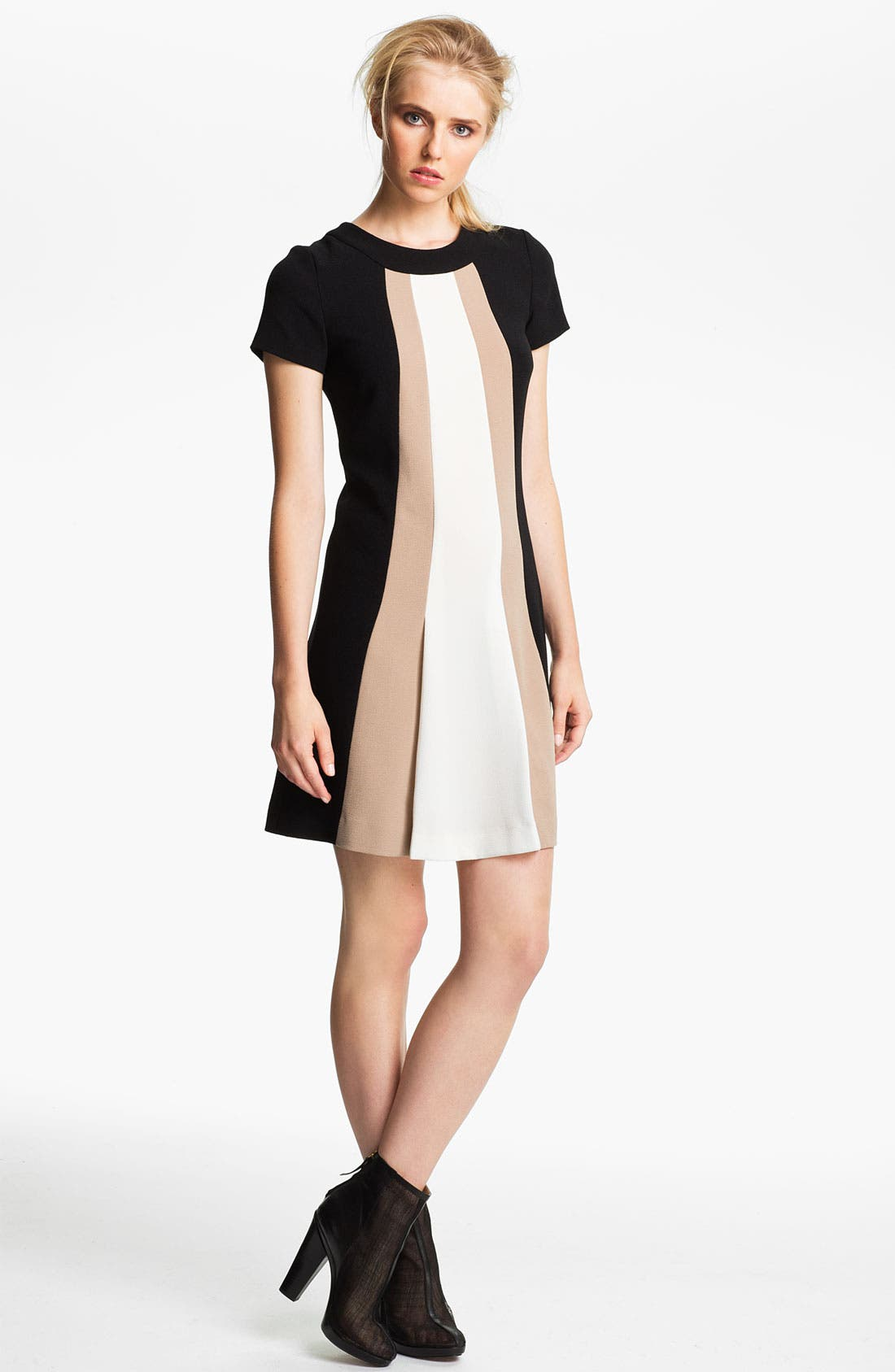 Main Image - Rachel Zoe 'Andie' Colorblock Shift Dress