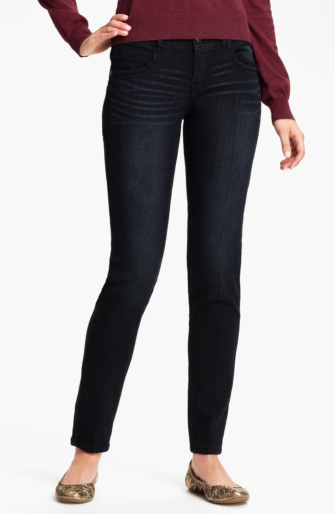 Alternate Image 2  - Jolt Skinny Stretch Jeans (Juniors)