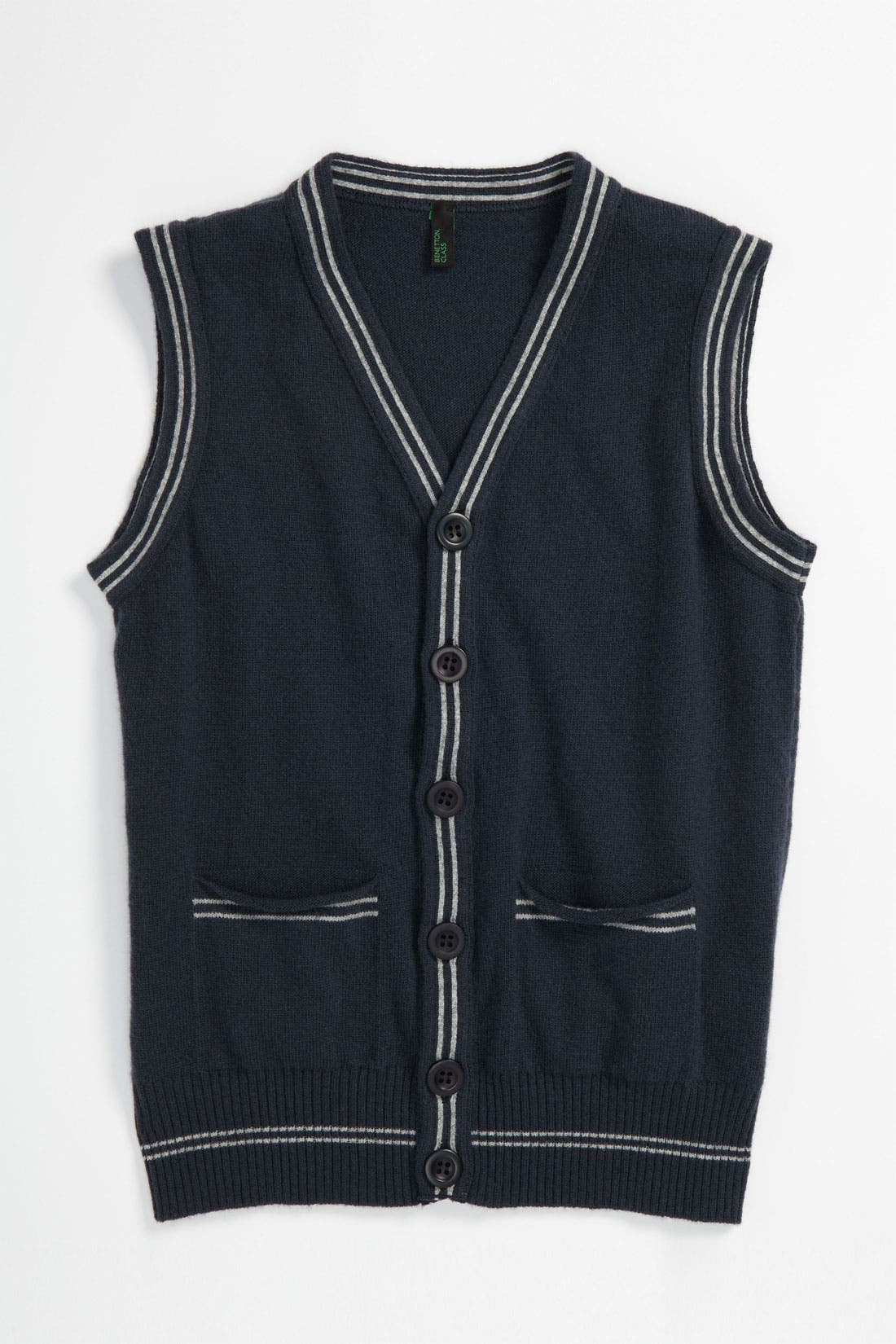Alternate Image 1 Selected - United Colors of Benetton Kids Sweater Vest (Little Boys & Big Boys)
