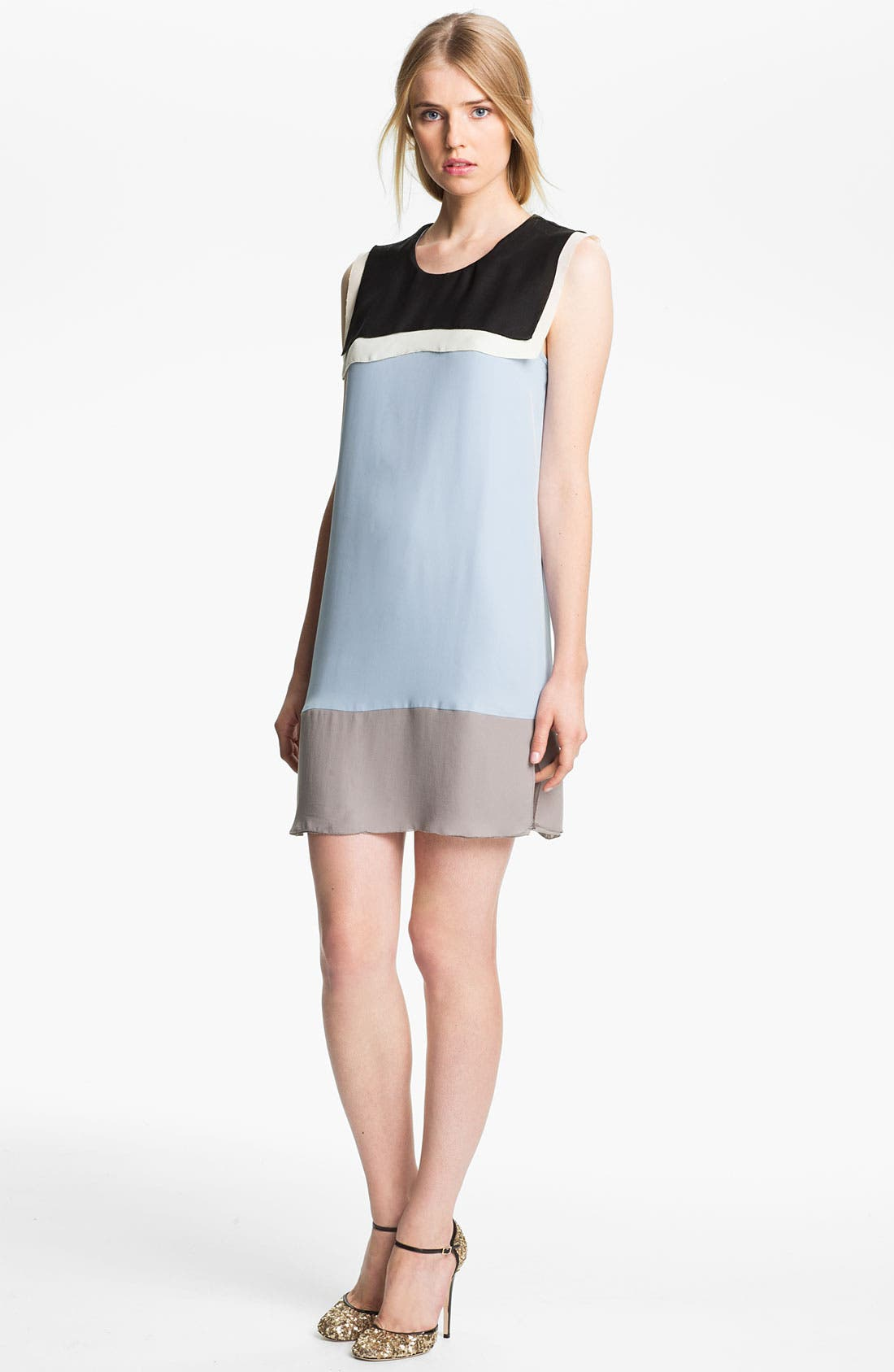 Alternate Image 1 Selected - L'AGENCE Colorblock Sailor Dress
