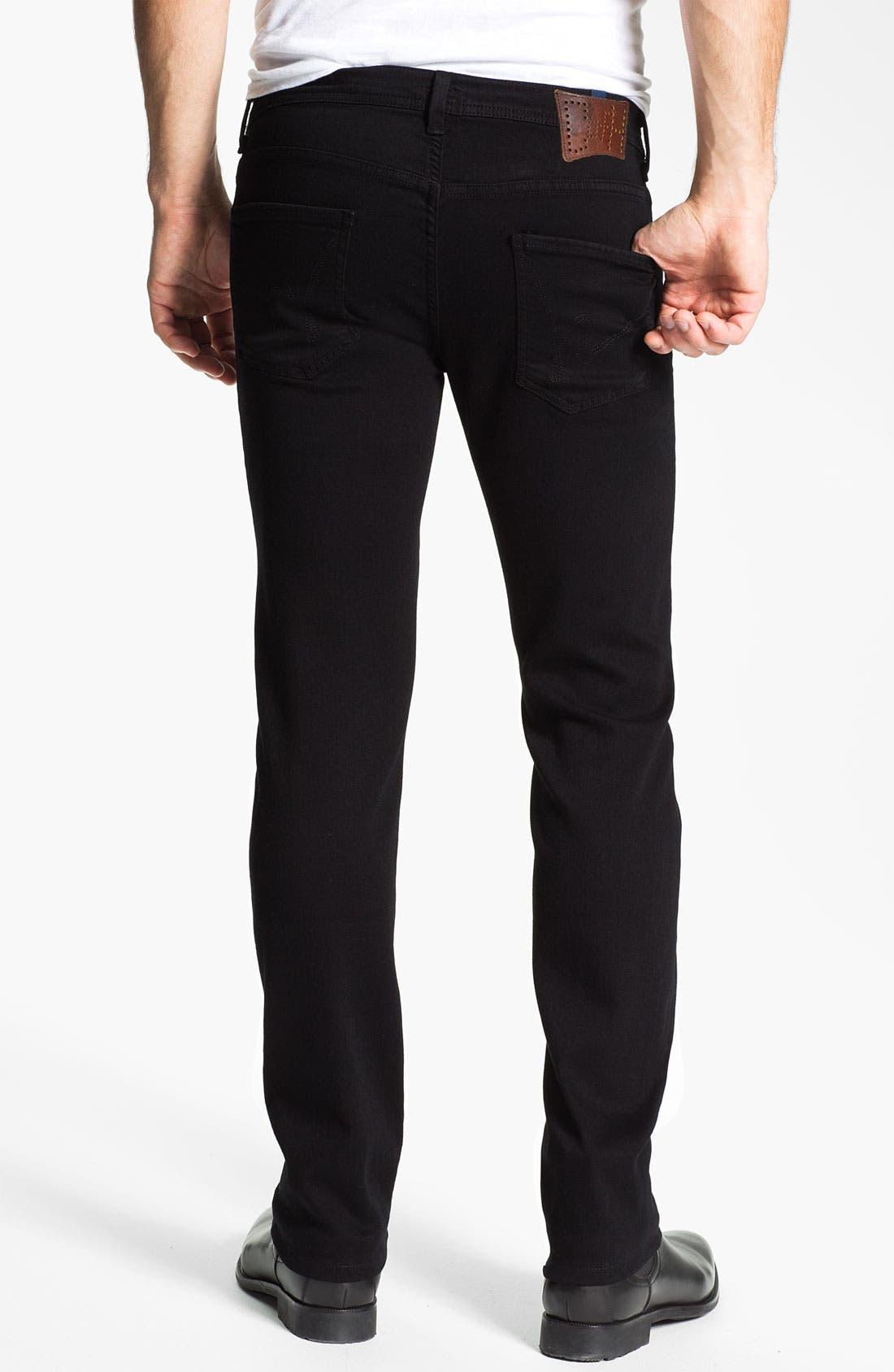 Alternate Image 2  - Citizens of Humanity 'Adonis' Comfort Slim Fit Jeans (Brandon Black)