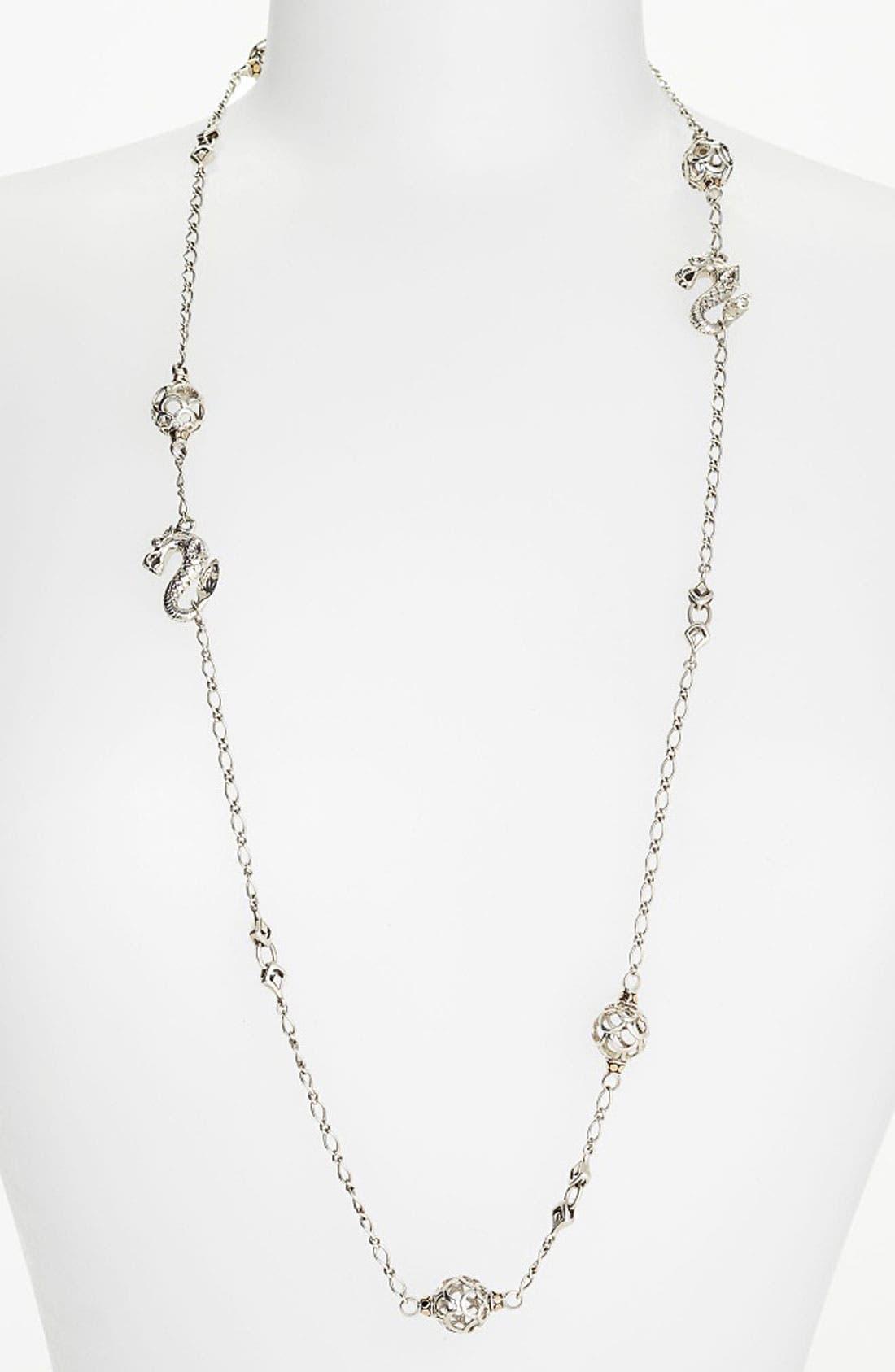 Alternate Image 1 Selected - John Hardy 'Naga' Long Sautoir Necklace