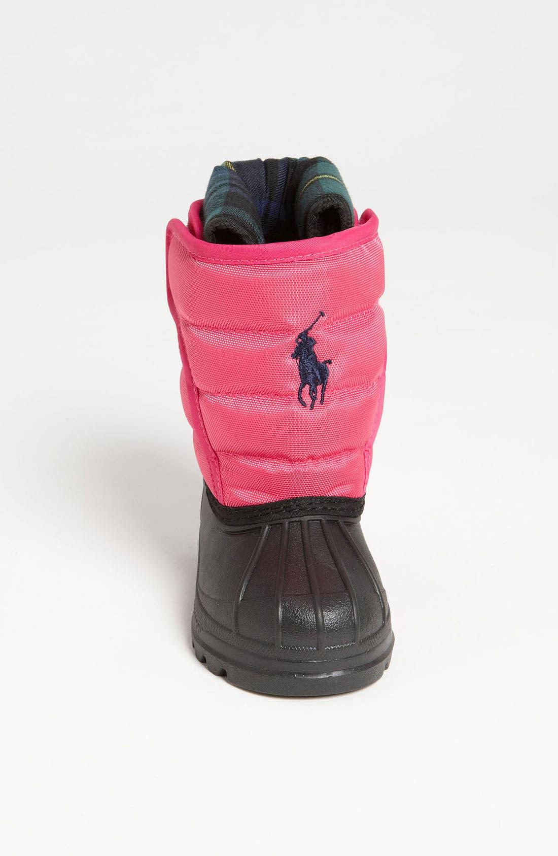 Alternate Image 3  - Polo Ralph Lauren Waterproof Duck Boot (Baby, Walker, Toddler & Big Kid)