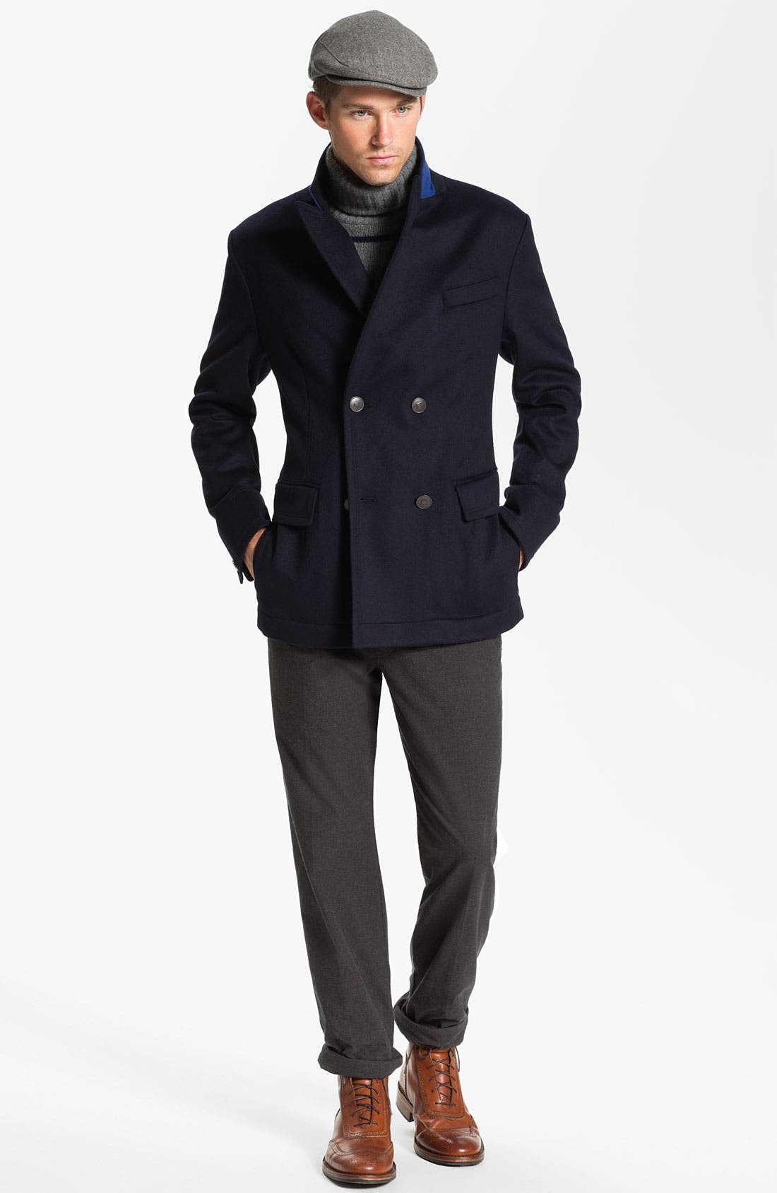 Alternate Image 4  - BOSS Black 'Clynt' Wool & Cashmere Blend Jacket