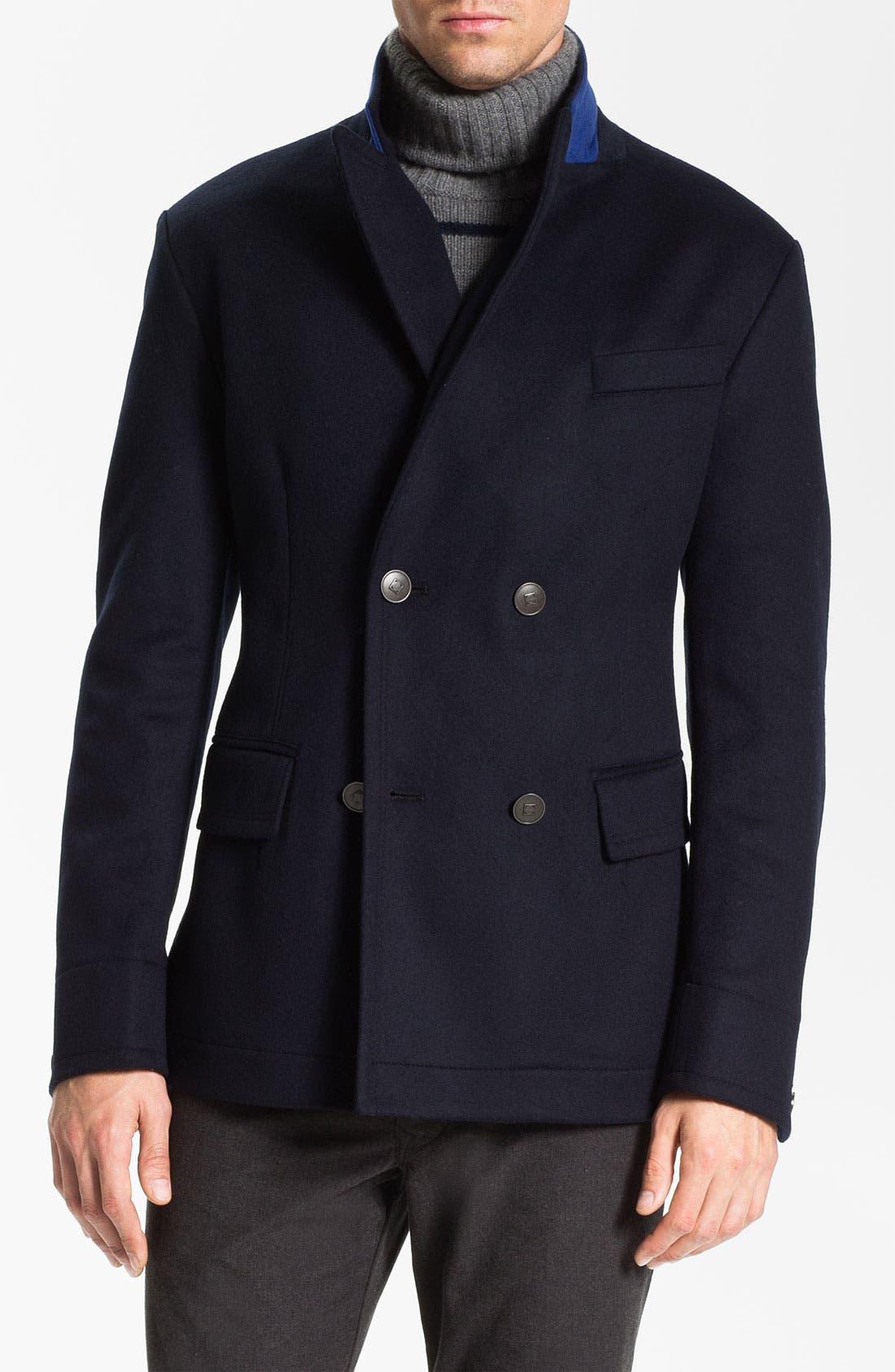 Alternate Image 1 Selected - BOSS Black 'Clynt' Wool & Cashmere Blend Jacket