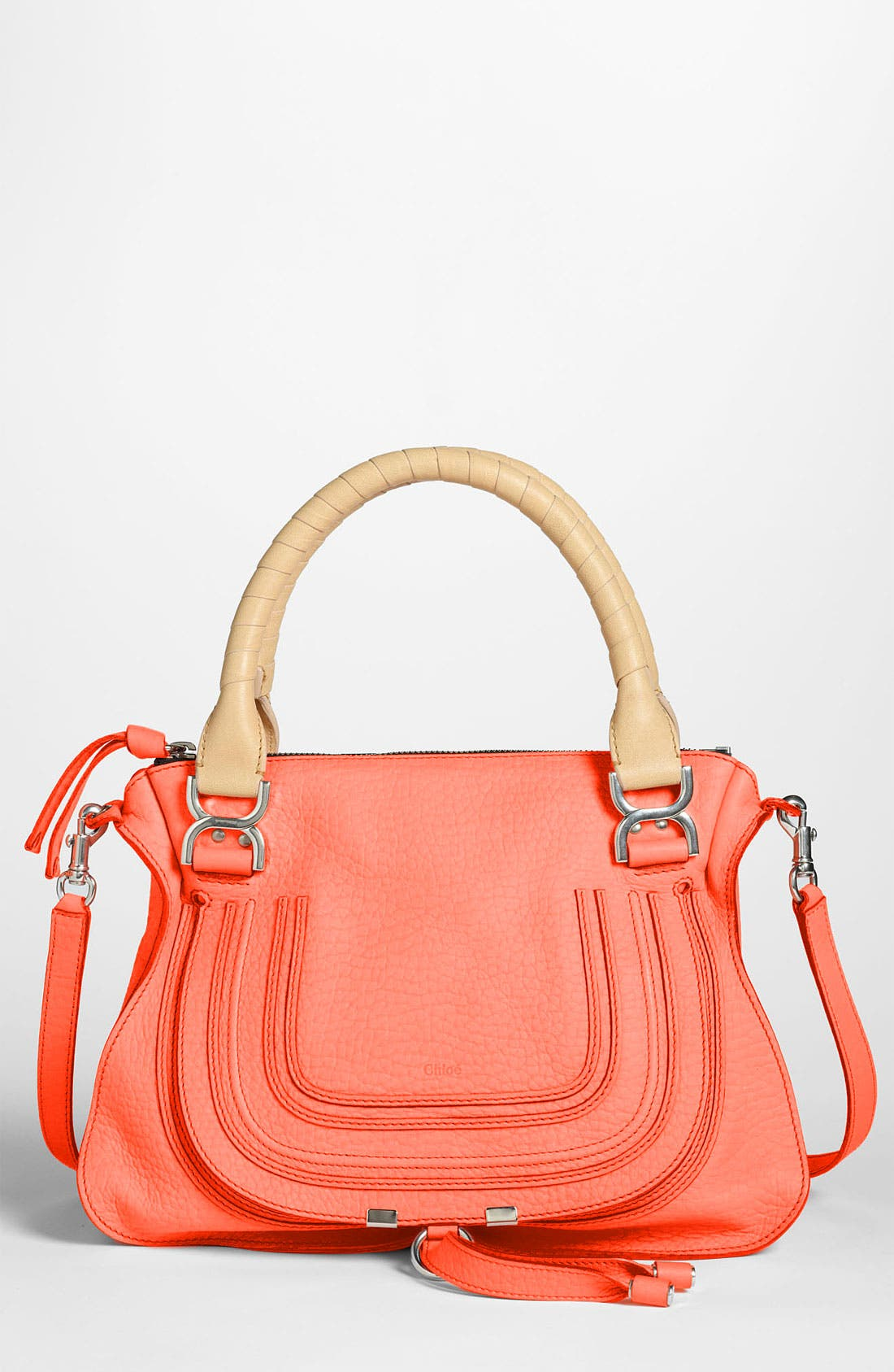 Main Image - Chloé 'Marcie - Small' Leather Satchel