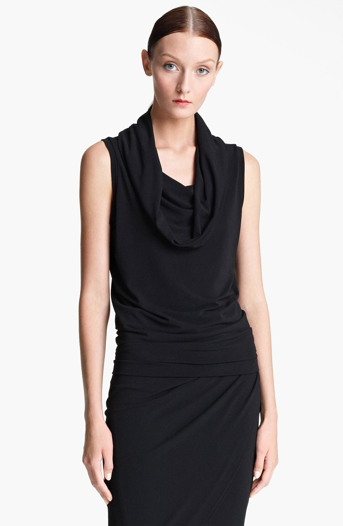 Alternate Image 1 Selected - Lida Baday Cowl Neck Jersey Tank