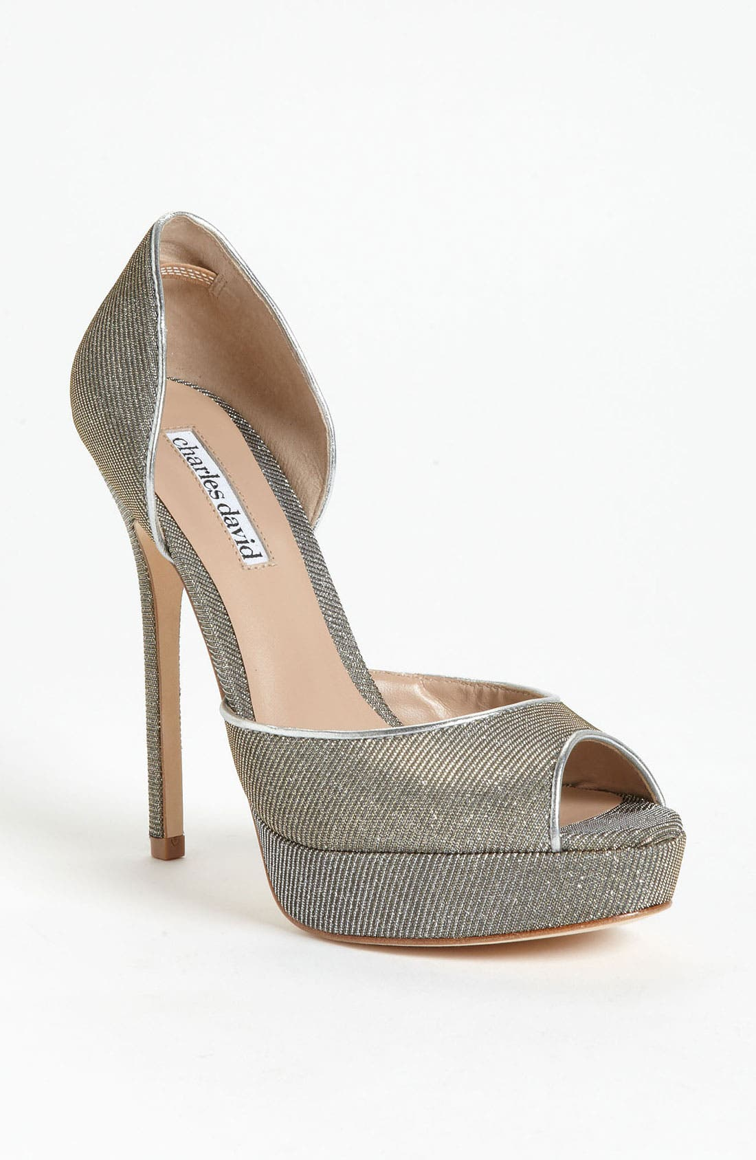 Main Image - Charles David 'Acanthus' Pump (Online Only)