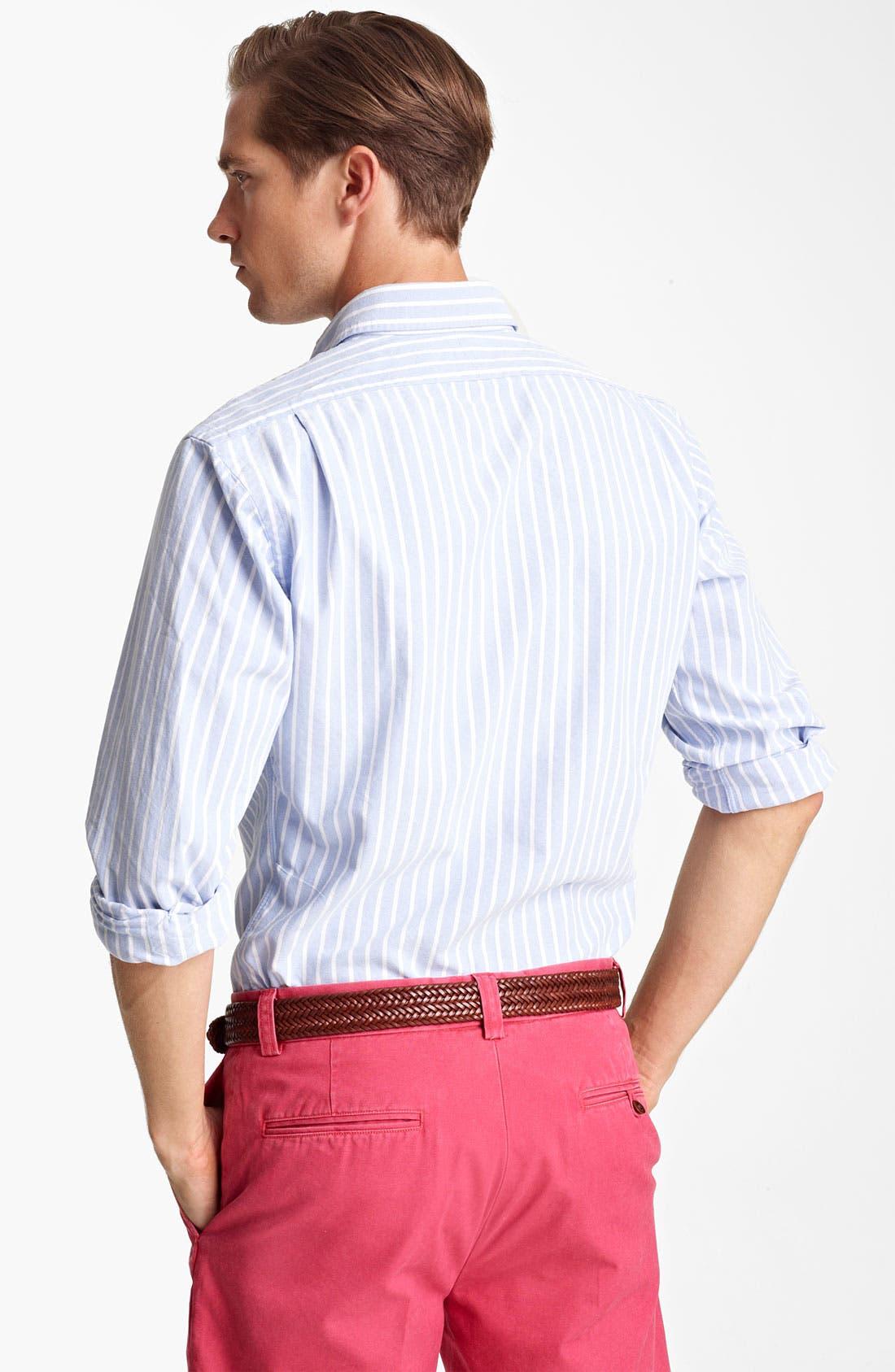 Alternate Image 2  - Polo Ralph Lauren Custom Fit Sport Shirt (Online Exclusive)