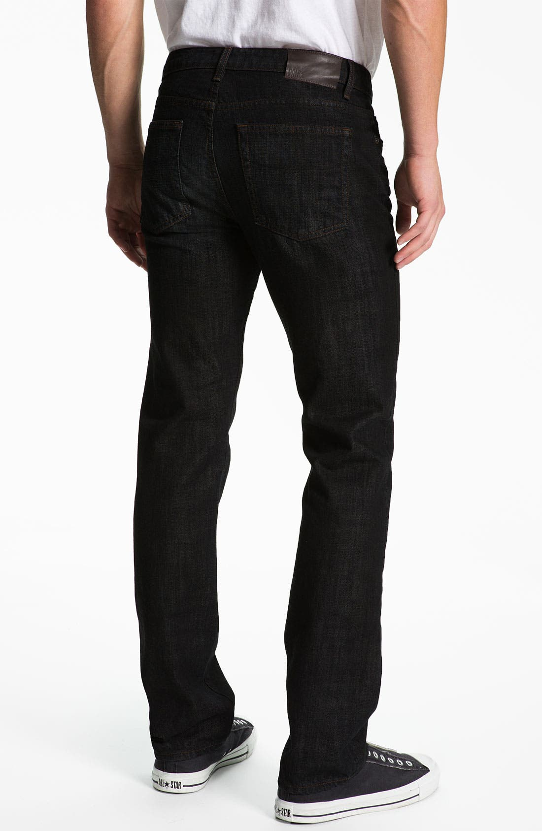 Alternate Image 1 Selected - PAIGE 'Normandie' Straight Leg Jeans (Alpha)