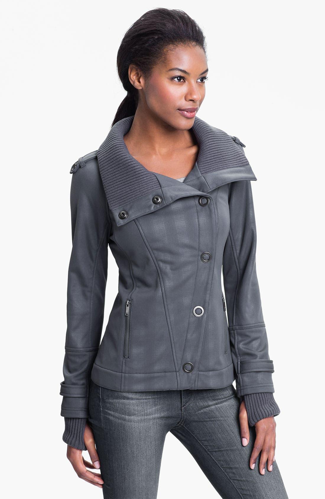 Alternate Image 4  - Zella Soft Shell Jacket