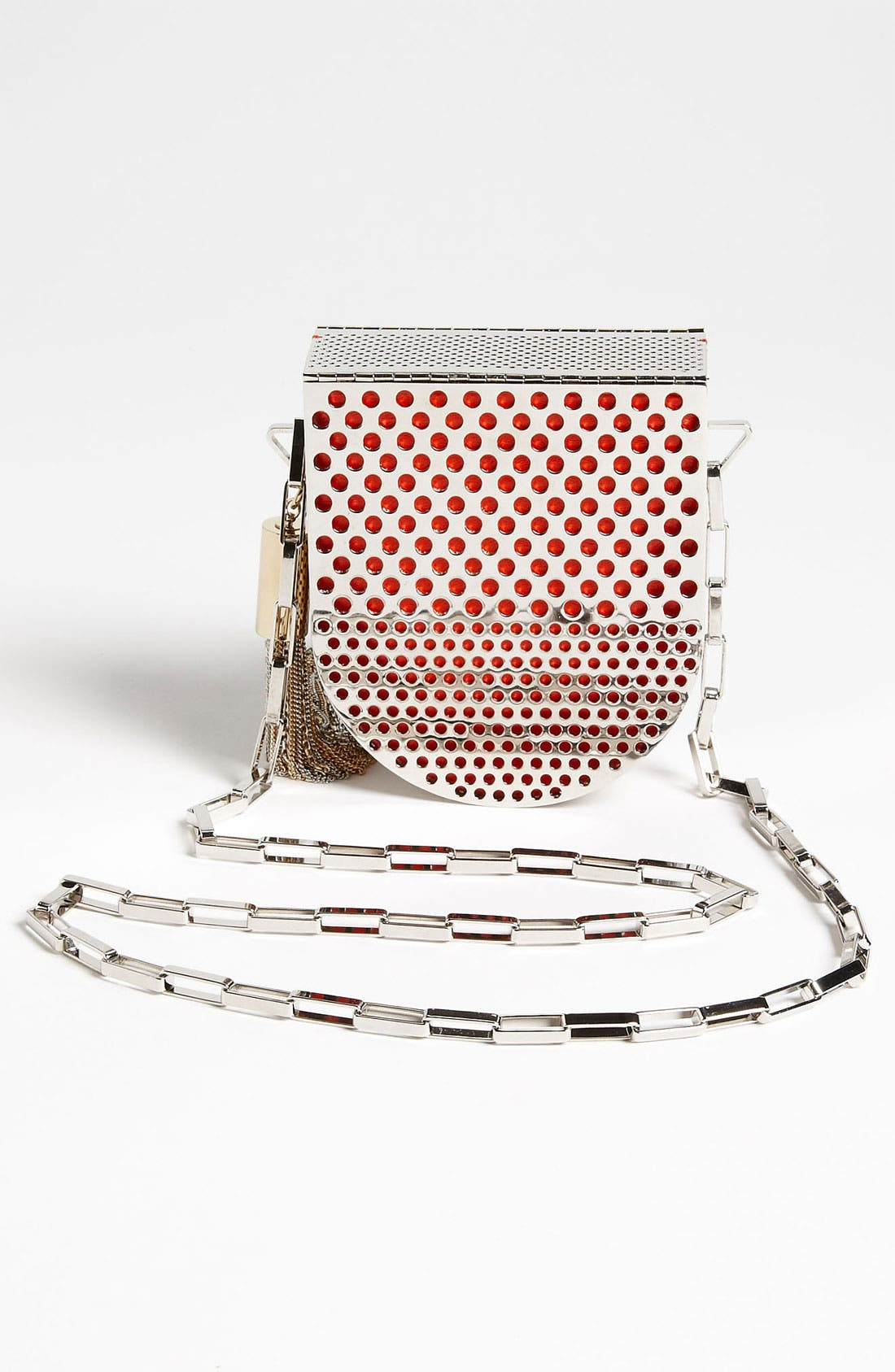 Alternate Image 4  - Jimmy Choo 'Milla' Metal Crossbody Bag