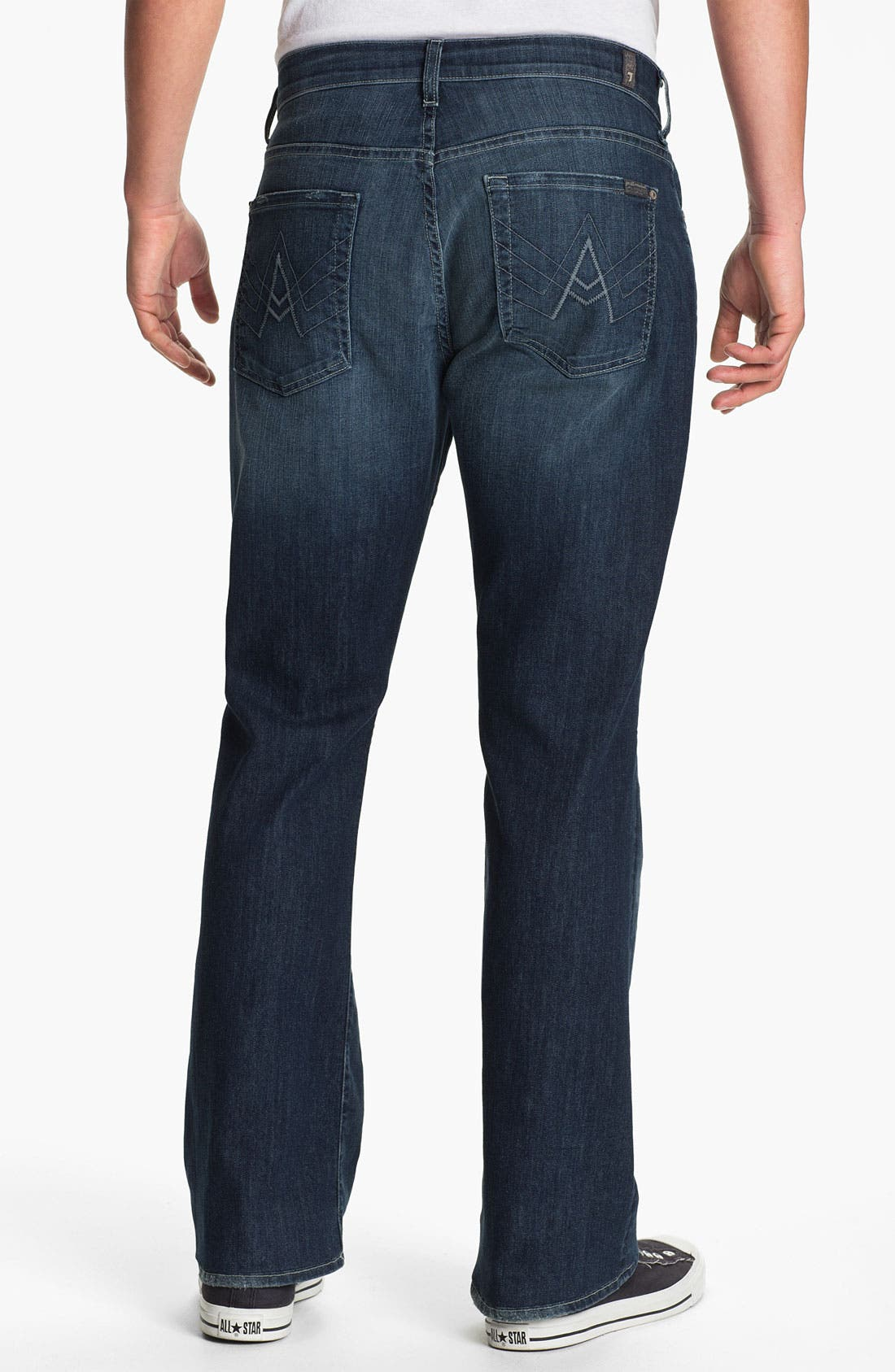 Alternate Image 1 Selected - 7 For All Mankind® 'Brett' Bootcut Jeans (Fresh Oasis)