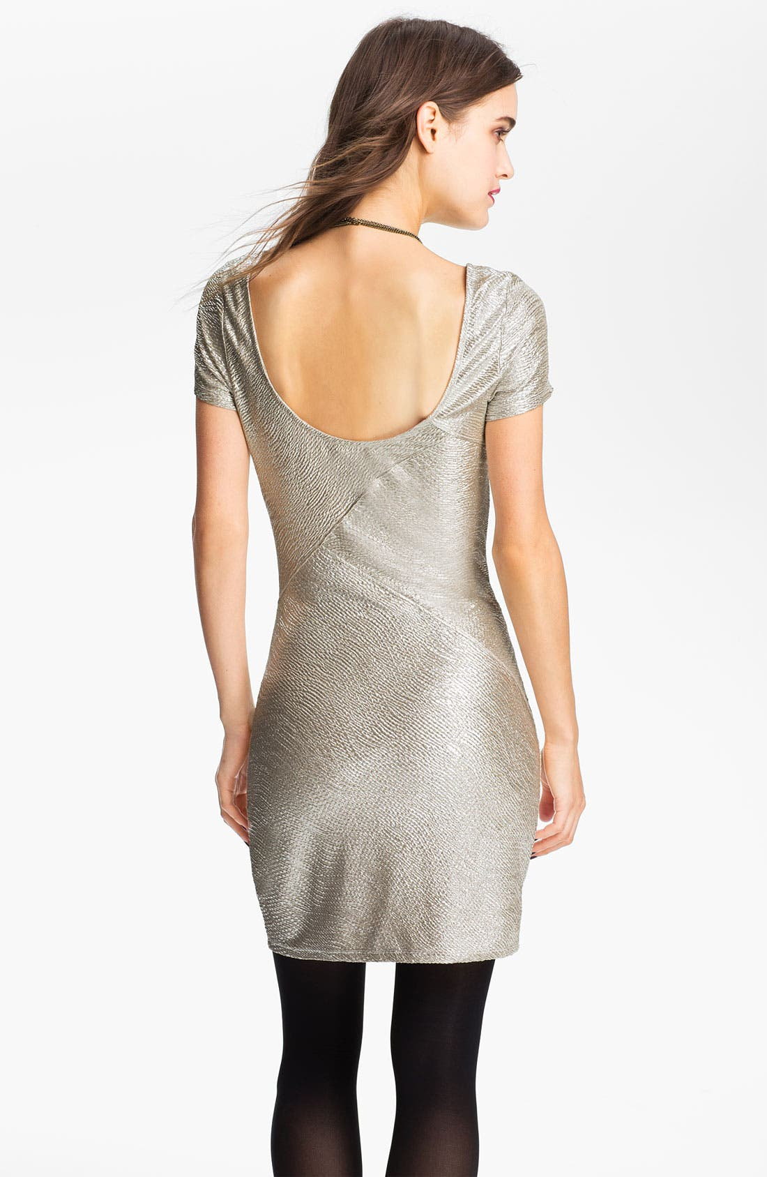 Alternate Image 2  - Free People 'Daydream' Metallic Tunic