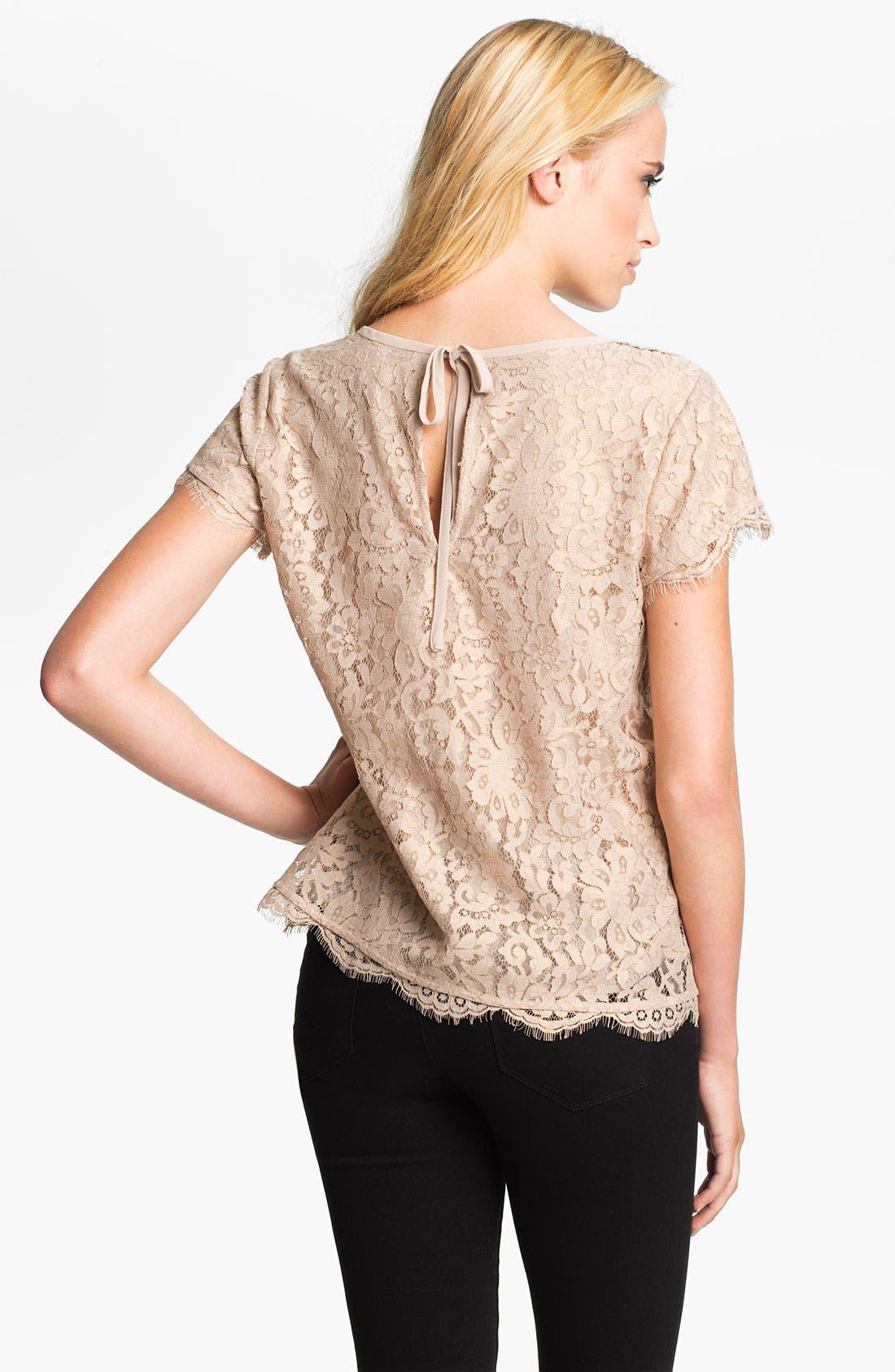 Alternate Image 2  - Joie 'Marelia' Lace Top