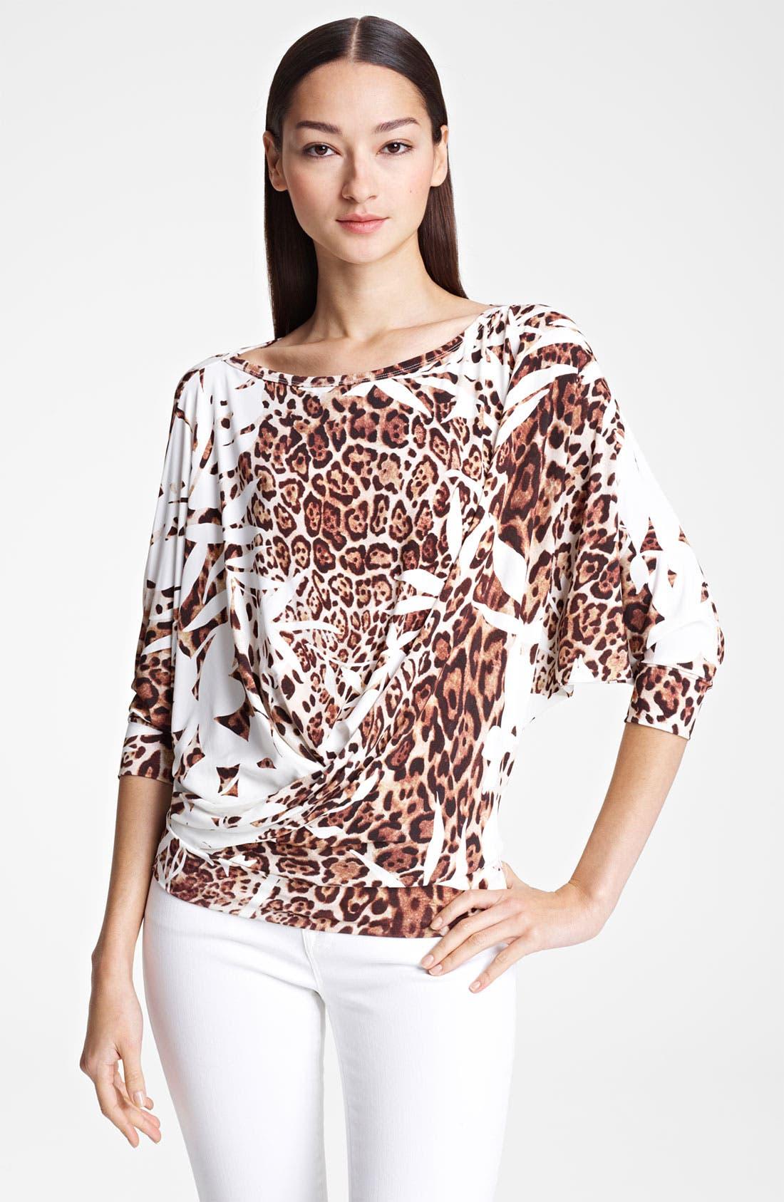 Alternate Image 1 Selected - Blumarine Dolman Sleeve Jersey Top