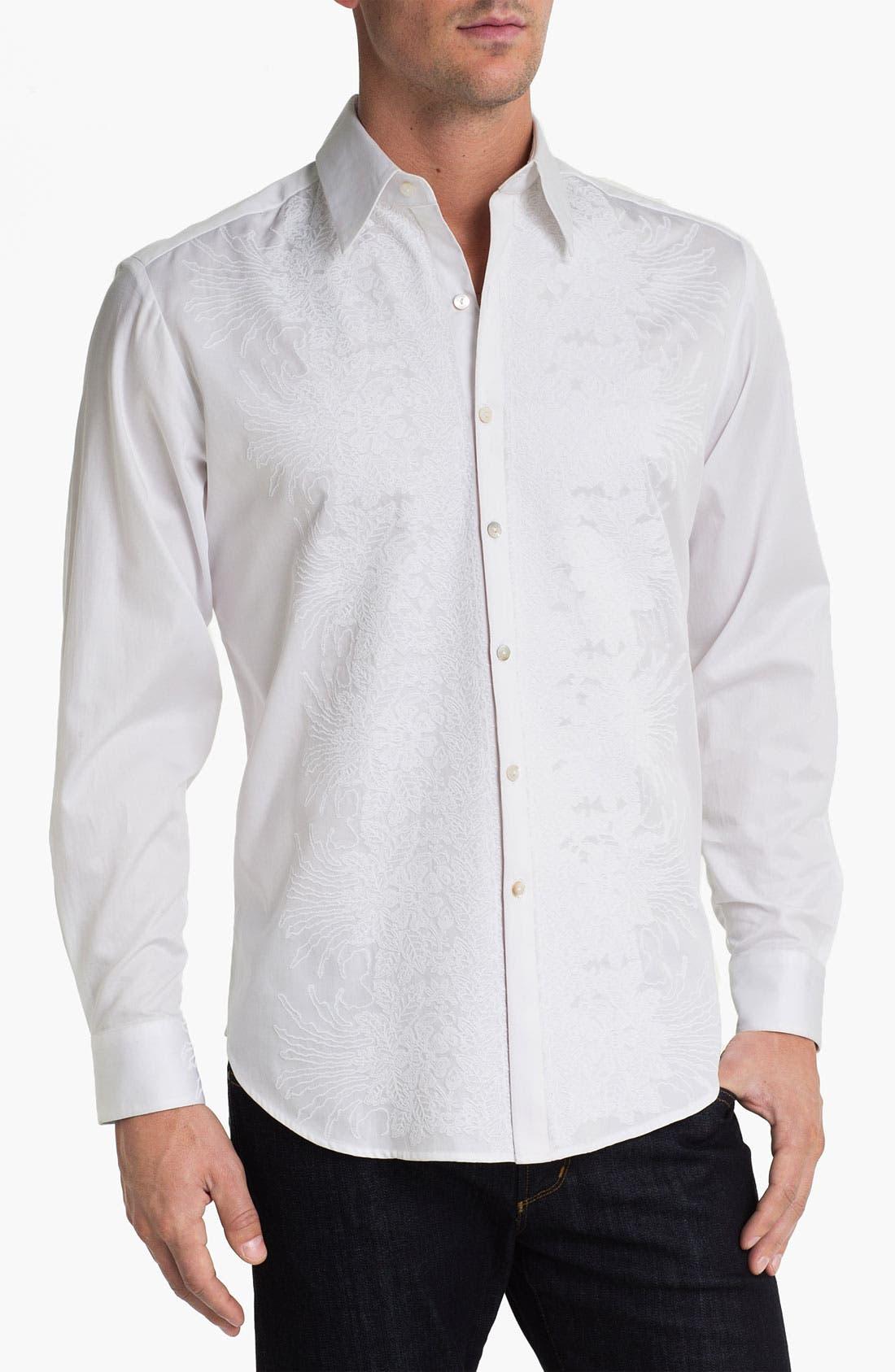 Alternate Image 1 Selected - Robert Graham 'Cross Jack' Sport Shirt
