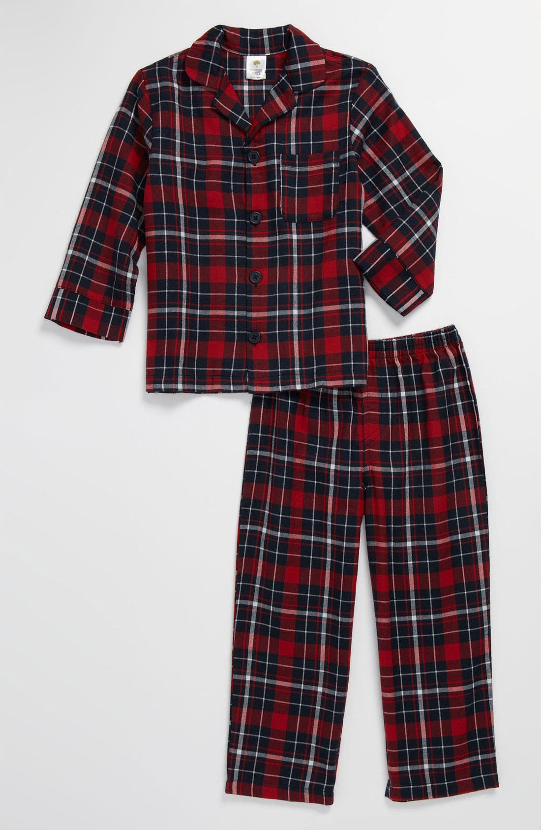 Alternate Image 1 Selected - Tucker + Tate Two Piece Fitted Pajamas (Infant)