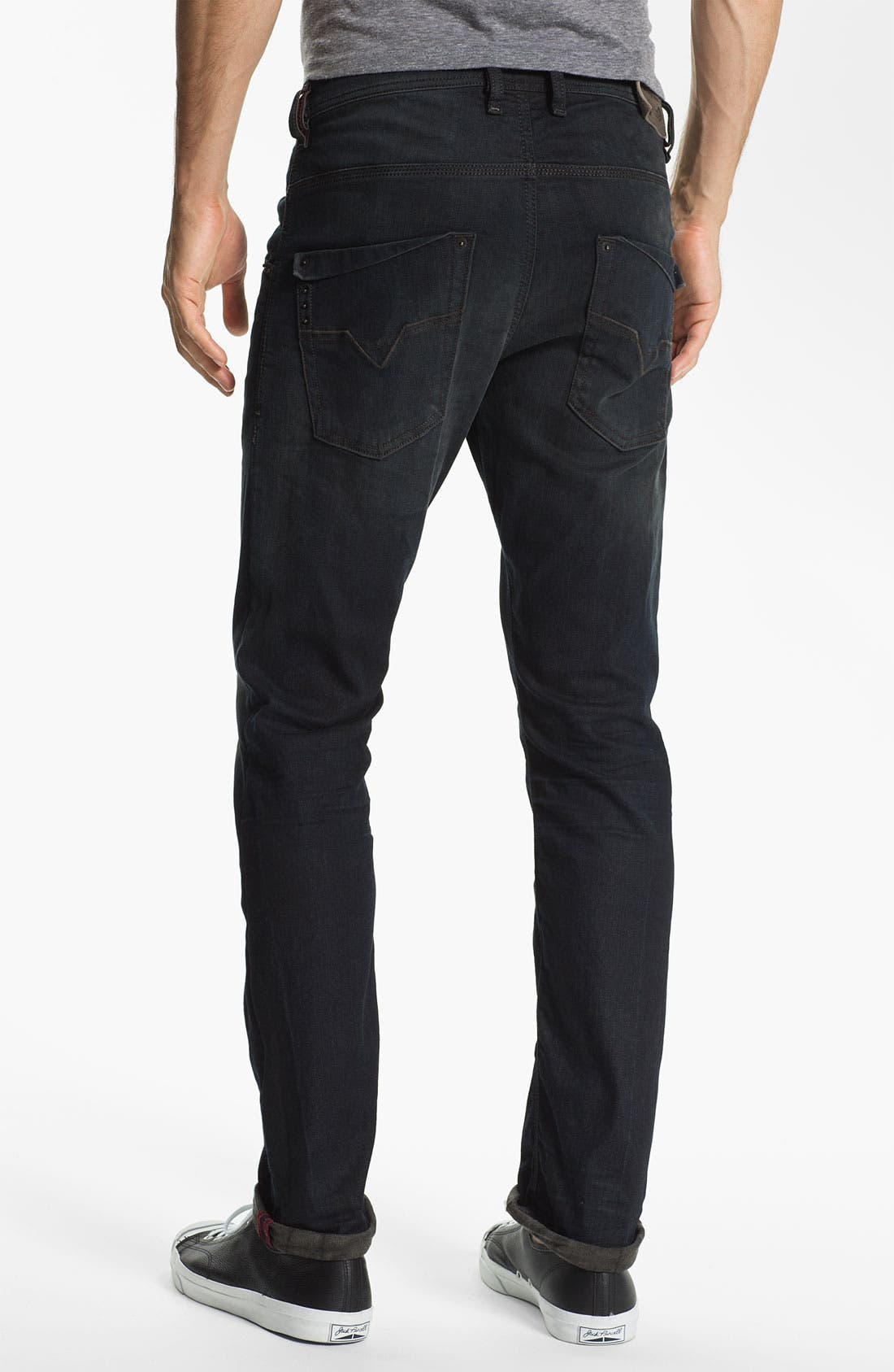 Alternate Image 1 Selected - DIESEL® 'Krooley' Relaxed Tapered Leg Jeans (0806Q) (Online Exclusive)