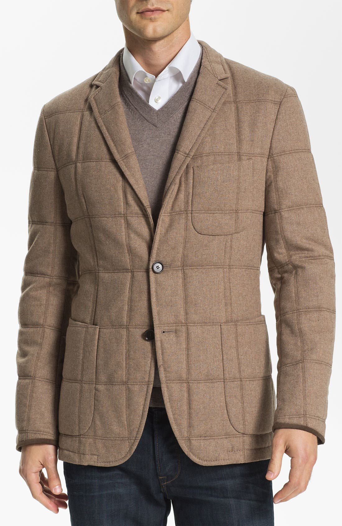 Alternate Image 1 Selected - BOSS Black 'The Soul' Trim Fit Quilted Sportcoat