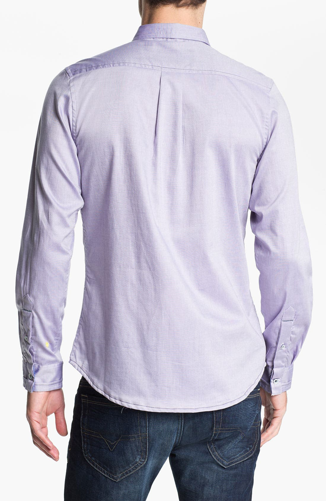 Alternate Image 2  - Descendant of Thieves Oxford Woven Shirt