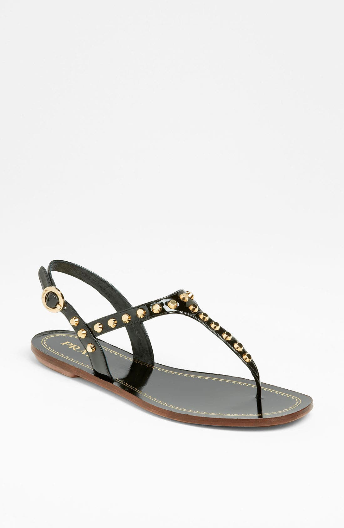 Alternate Image 1 Selected - Prada Studded Thong Sandal
