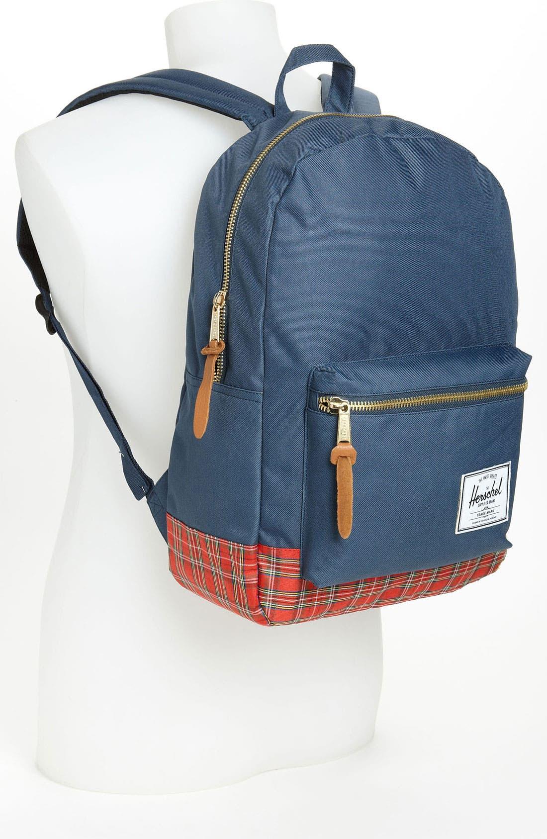 Alternate Image 4  - Herschel Supply Co. 'Tartan Collection - Settlement' Backpack