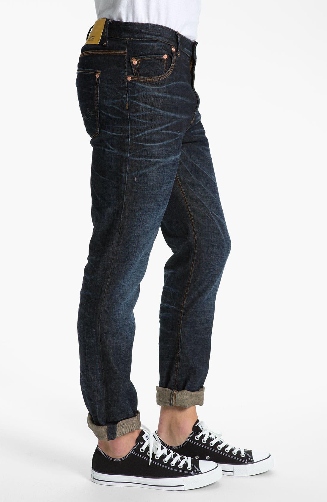 Alternate Image 3  - WeSC 'Eddy' Slim Fit Jeans (Three Months)