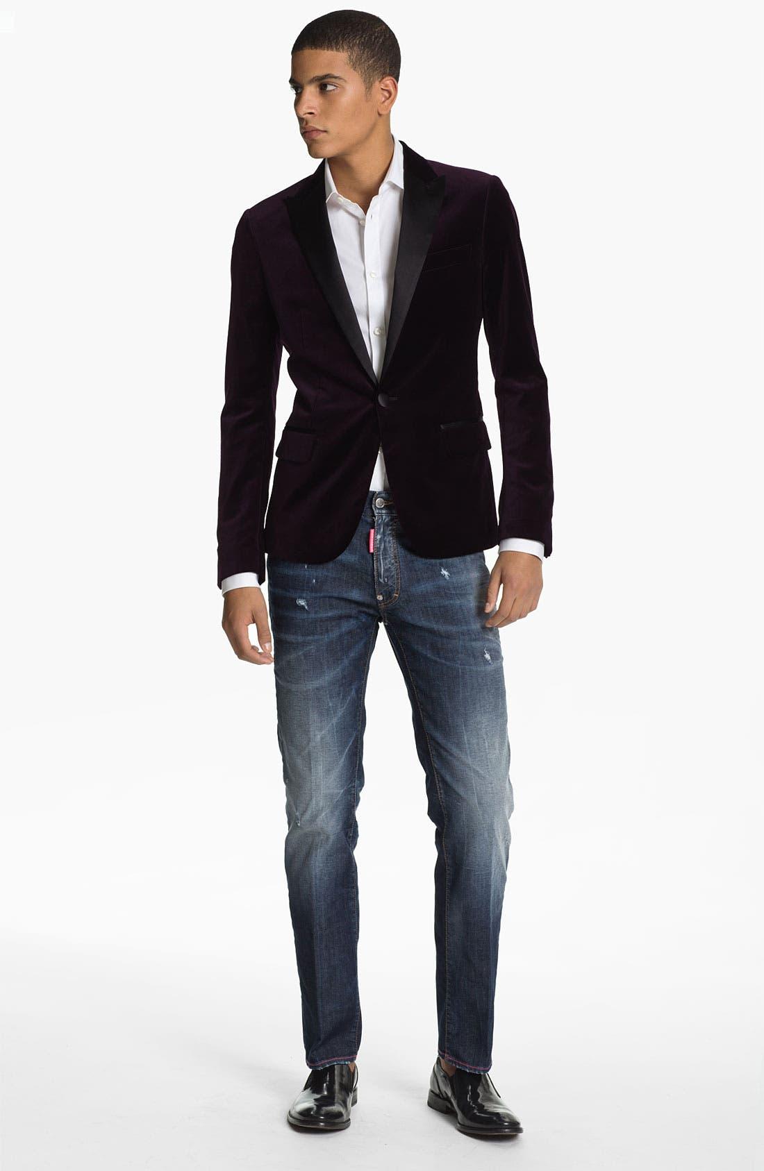 Alternate Image 5  - Dsquared2 'Dean' Straight Leg Jeans