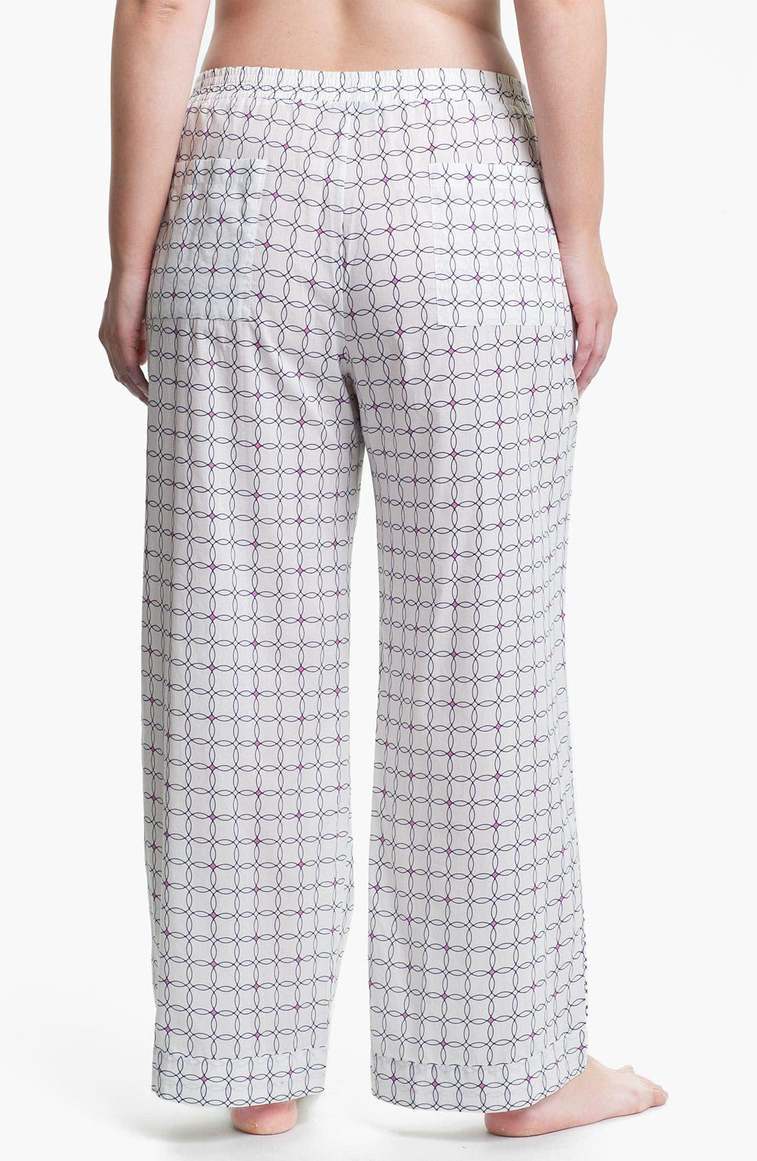 Alternate Image 2  - Shimera Print Pajama Pants (Plus) (Online Exclusive)