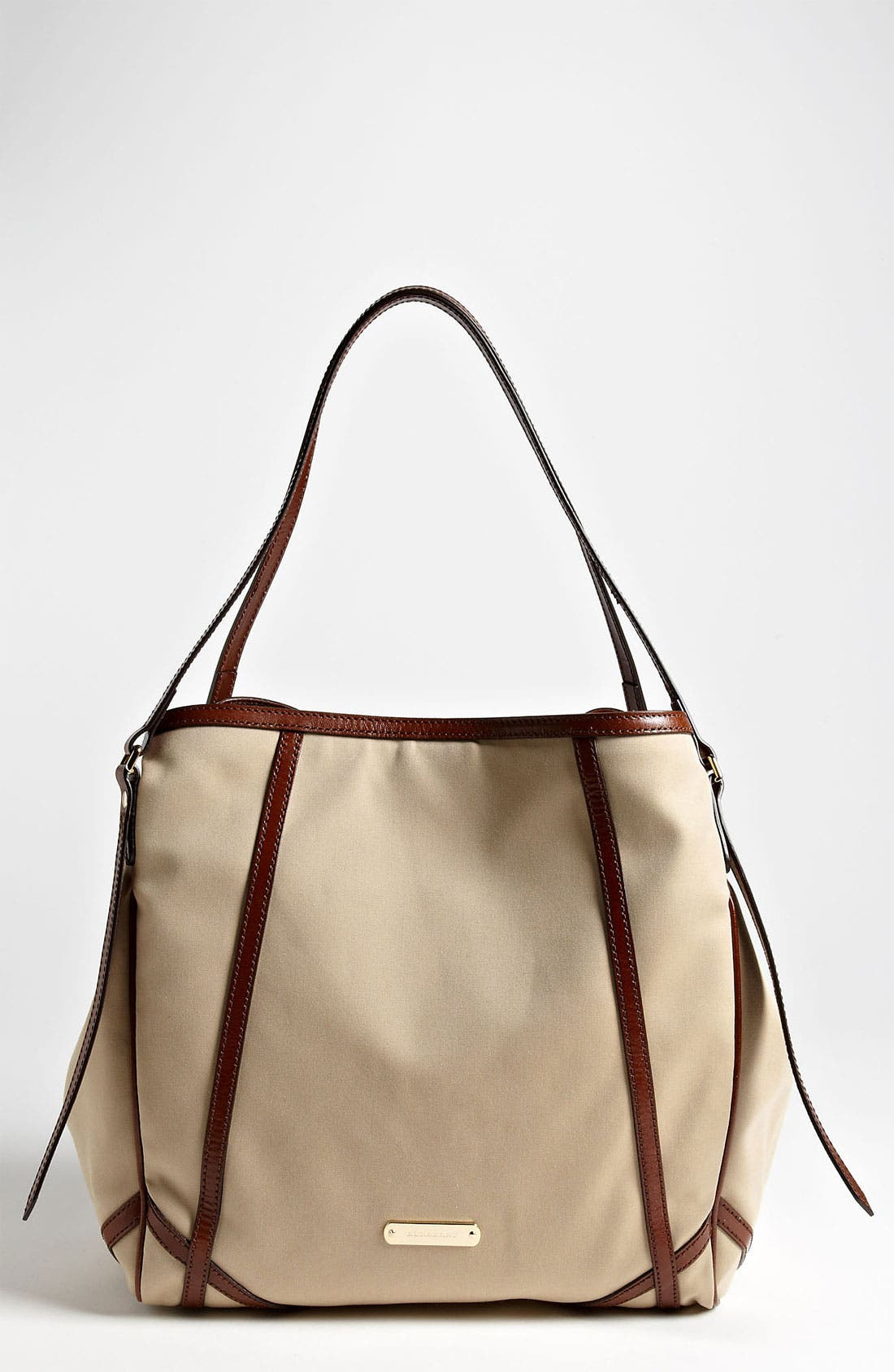 Alternate Image 1 Selected - Burberry 'Trench - Medium' Fabric Tote
