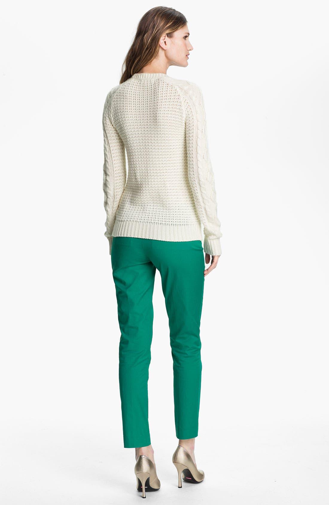 Alternate Image 5  - MICHAEL Michael Kors Zip Pocket Ankle Pants (Petite)