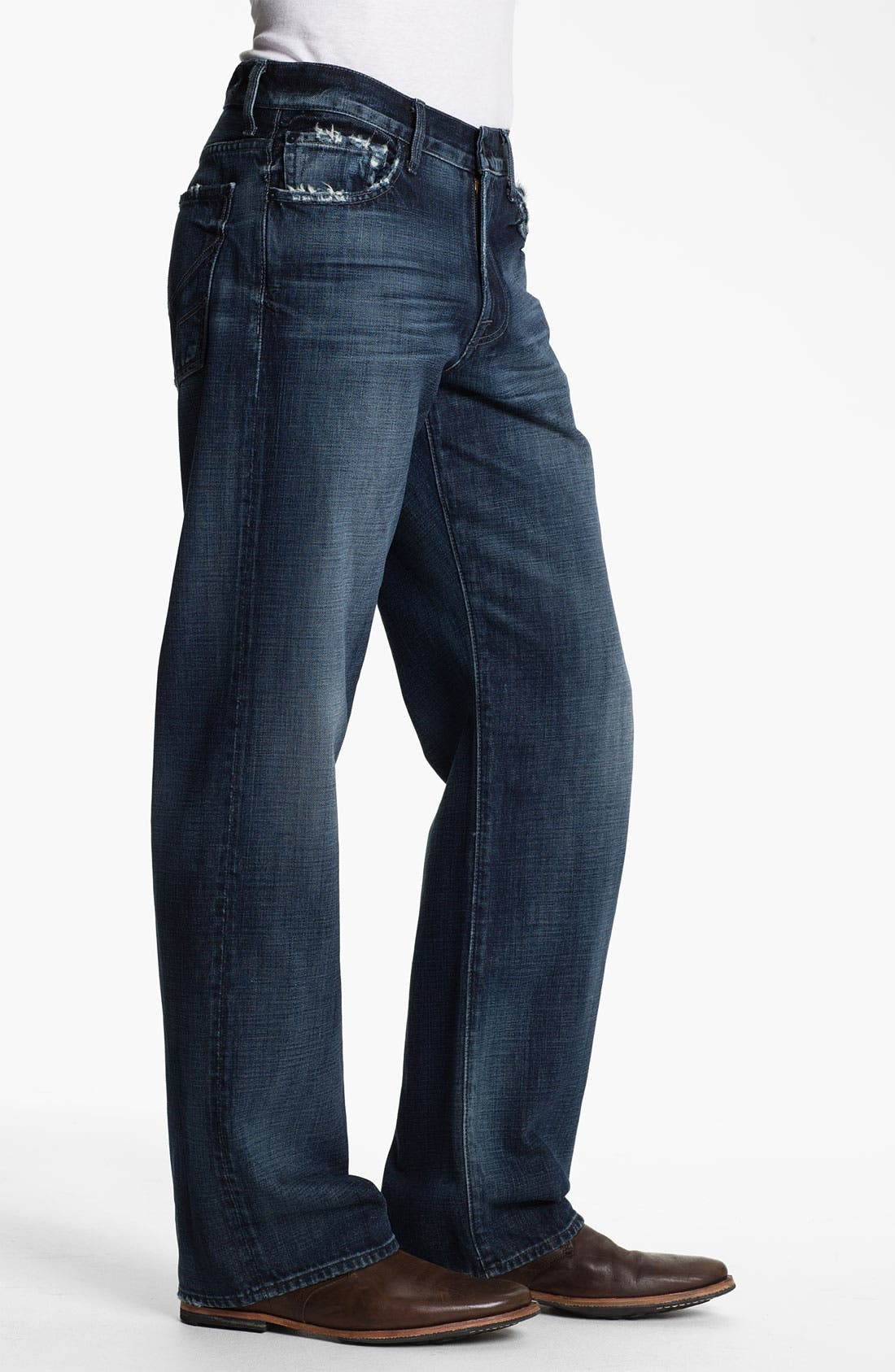 Alternate Image 3  - 7 For All Mankind® Relaxed Fit Jeans (Kool Nite)