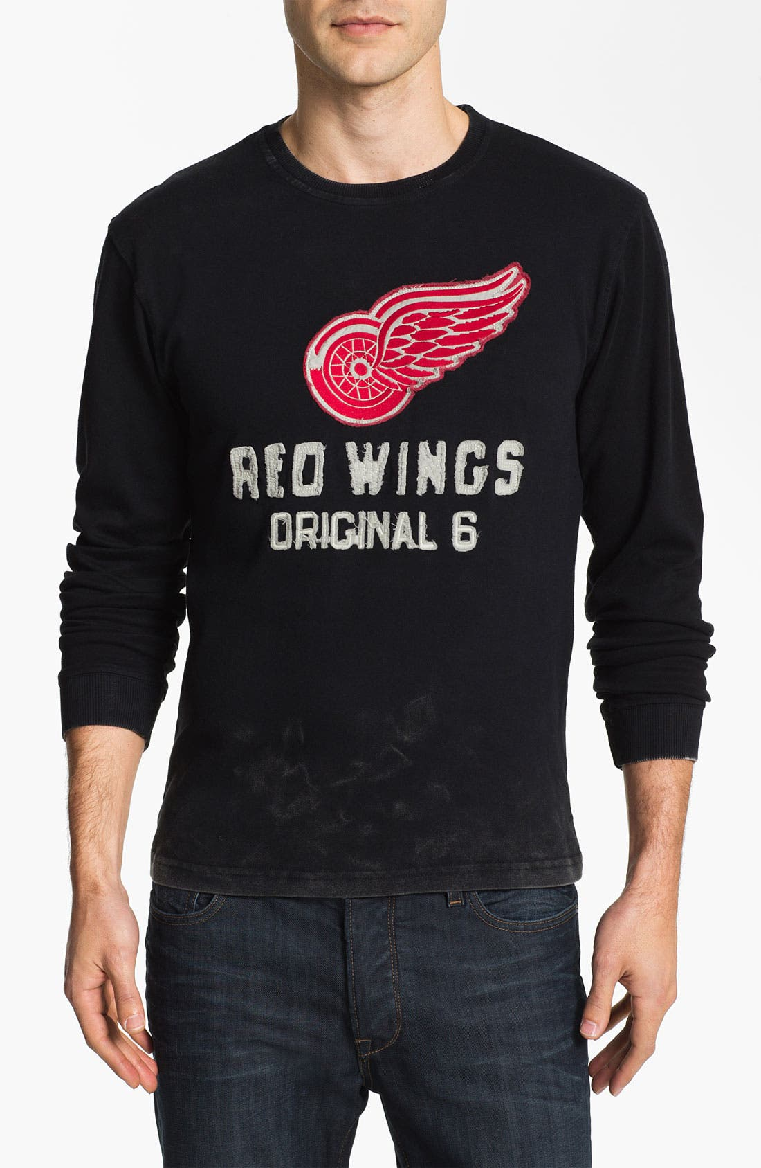 Alternate Image 1 Selected - Red Jacket 'Detroit Red Wings - Team City' Long Sleeve T-Shirt