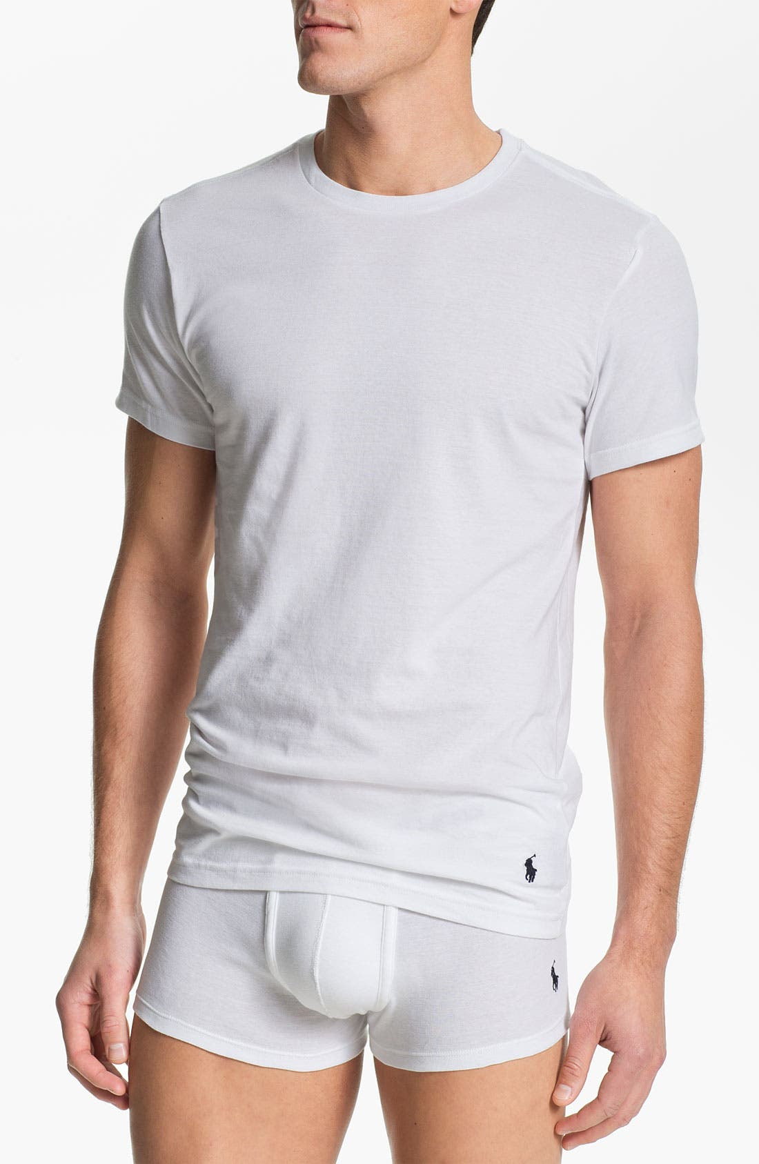 3-Pack Slim Fit T-Shirt,                         Main,                         color, White