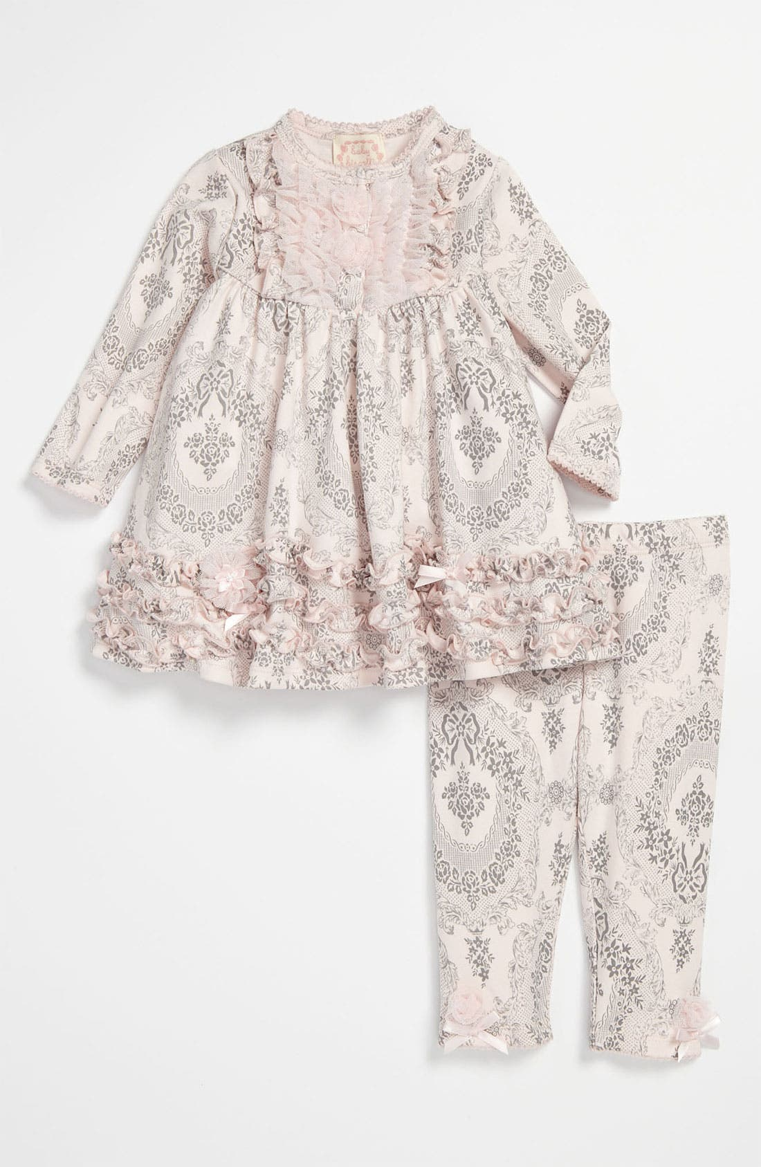 Main Image - Biscotti Dress & Leggings (Infant)