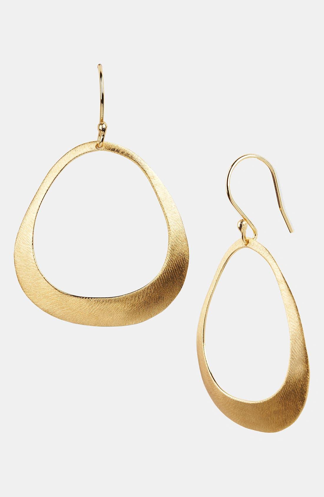 Main Image - Argento Vivo Frontal Hoop Earrings (Nordstrom Exclusive)