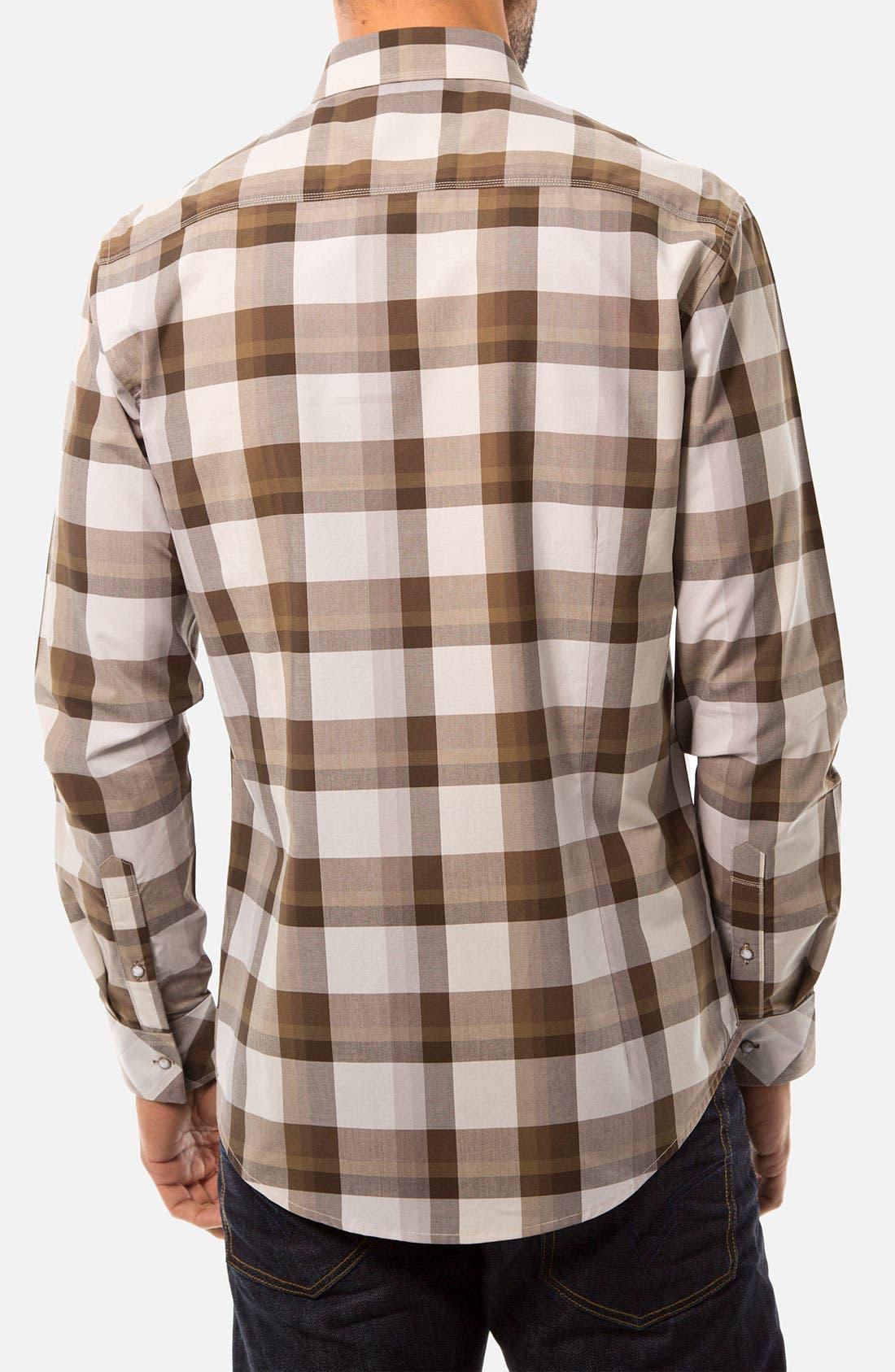 Alternate Image 2  - 7 Diamonds 'Valley of Tomorrow' Woven Sport Shirt