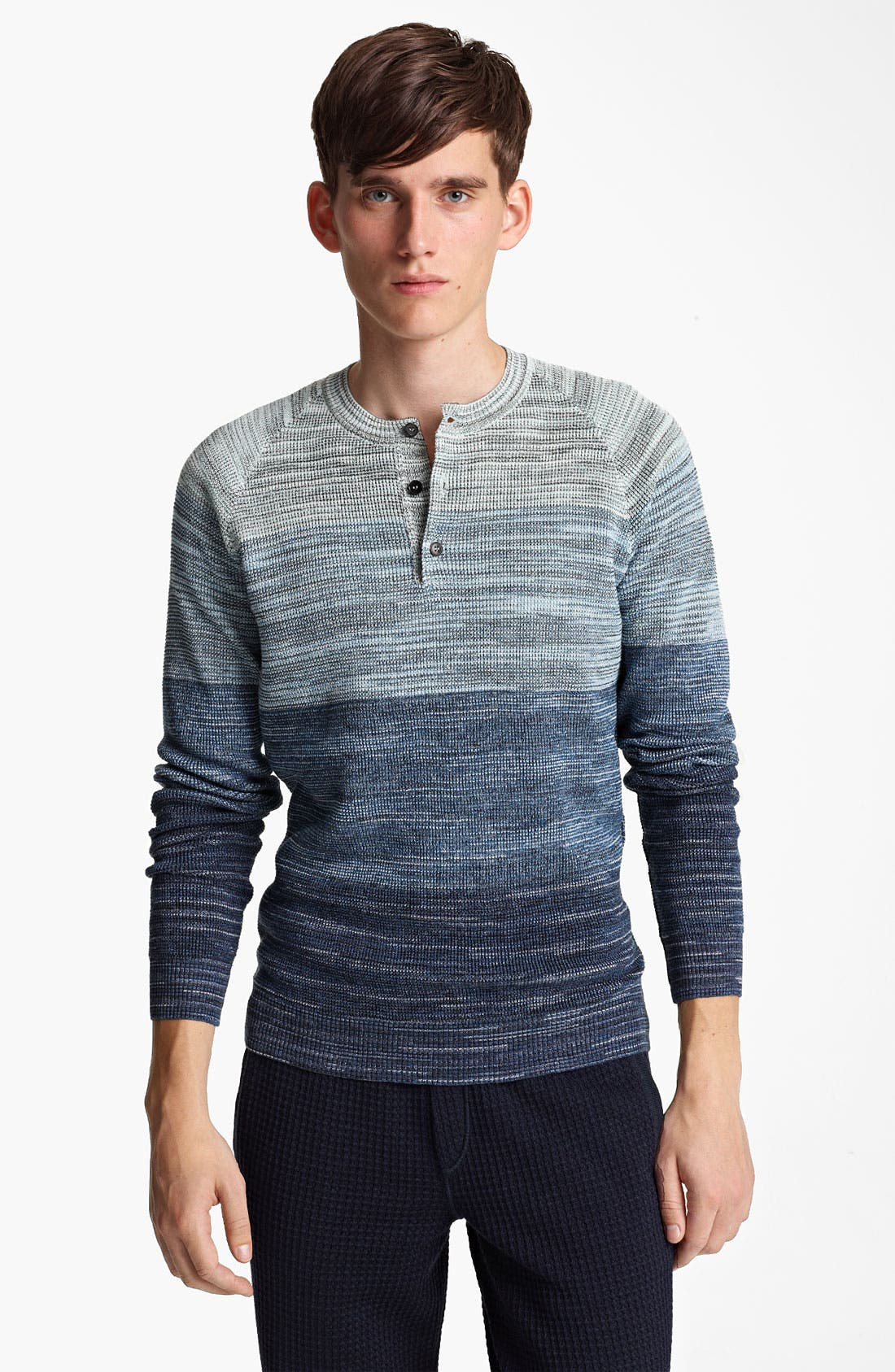 Alternate Image 1 Selected - Missoni Shaded Stripe Henley